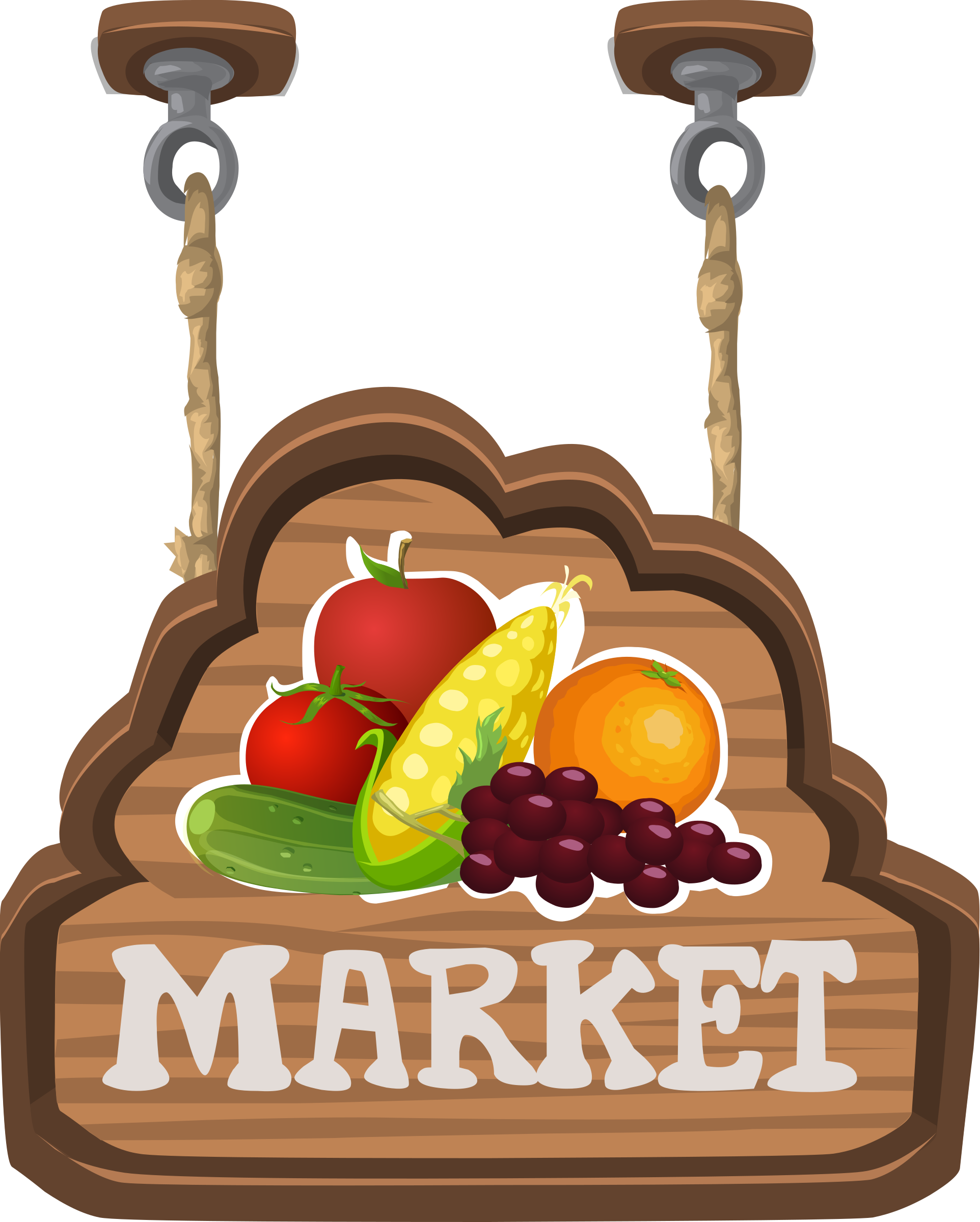 Sign for a fruit & veg market from Glitch by anarres