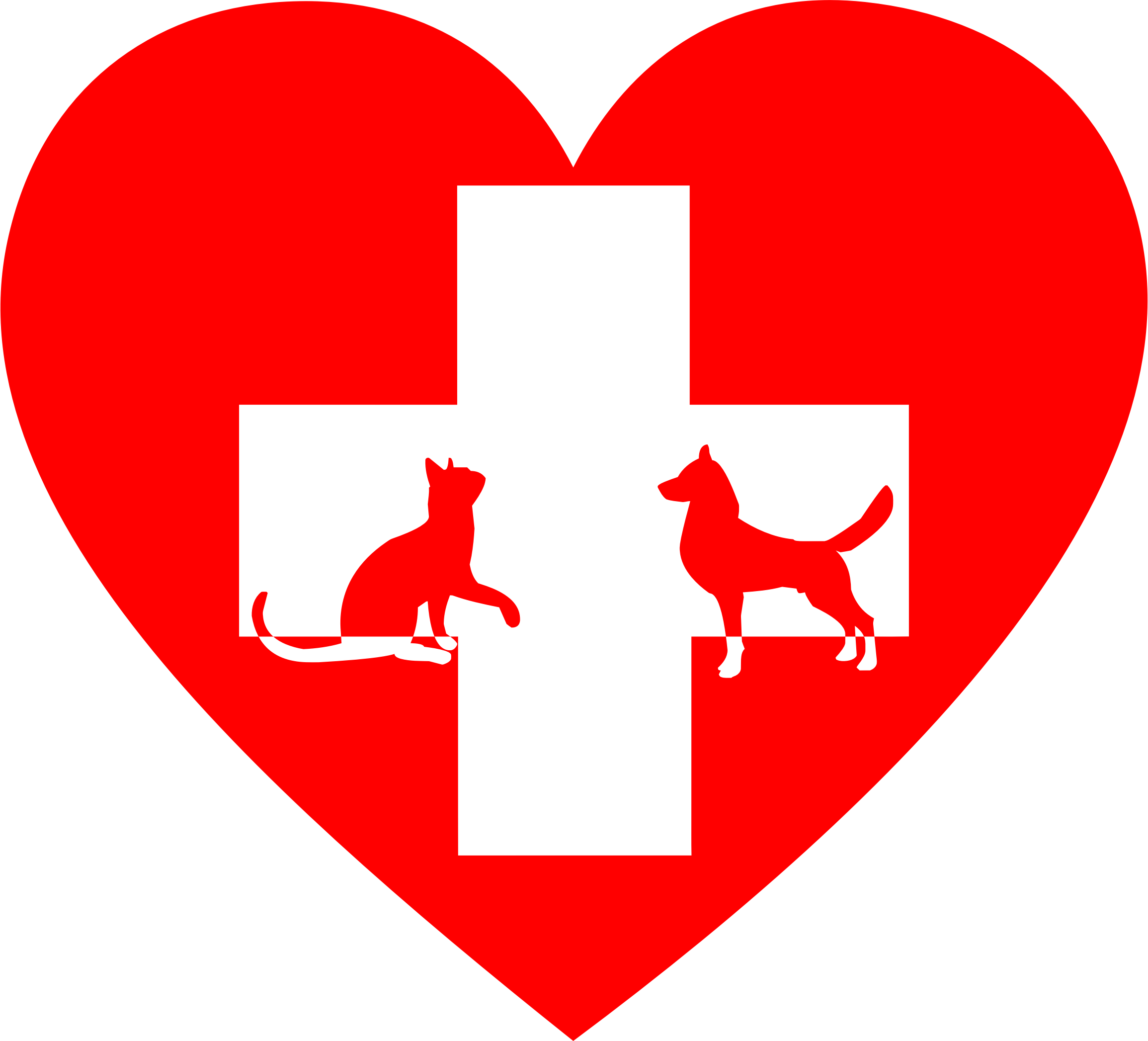 Veterinary First Aid Heart by GDJ