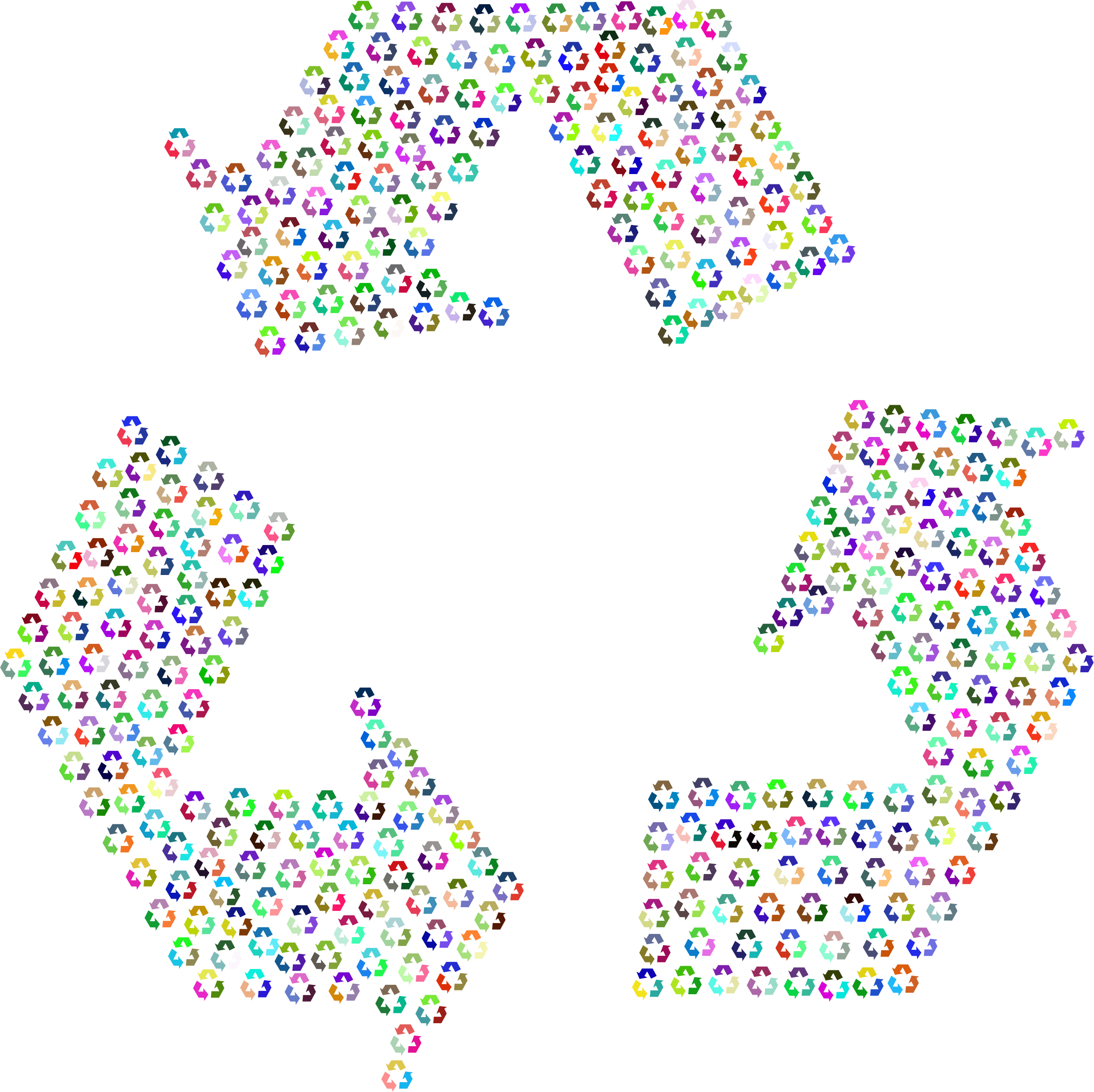 Recycling Fractal Prismatic by GDJ