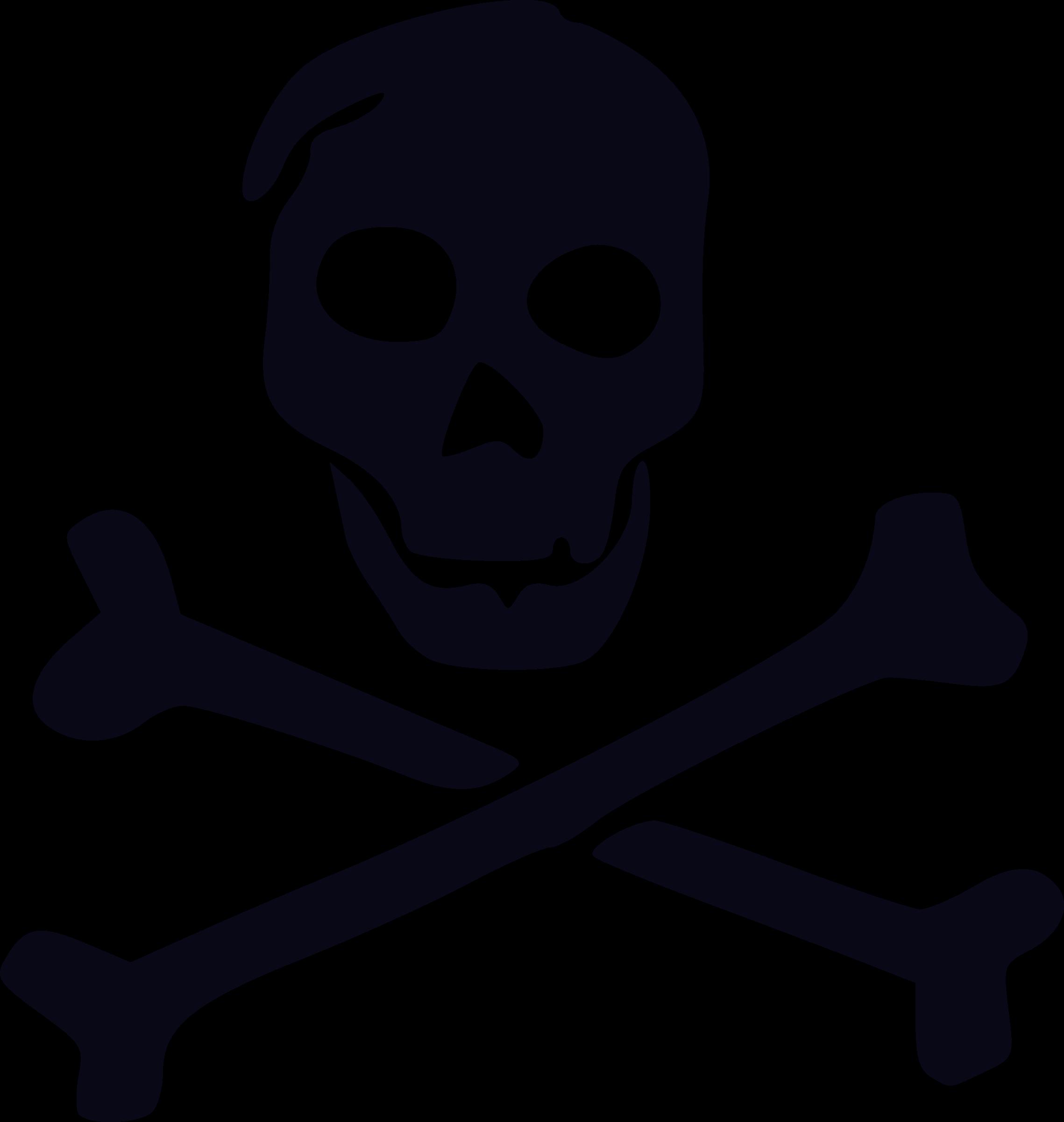 Clipart Skull And Bones Sketch
