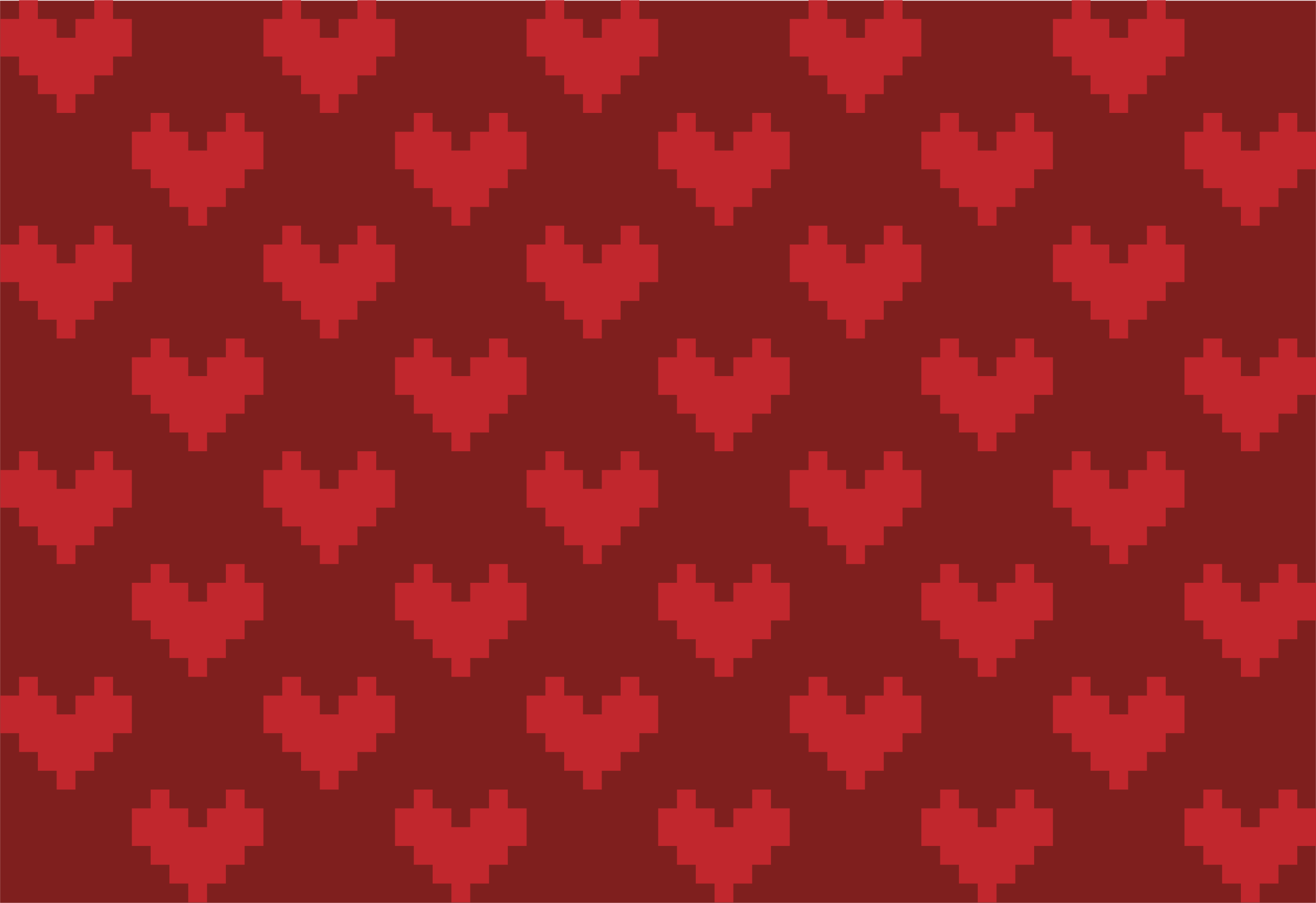 Pixel Heart Background by CLXVI