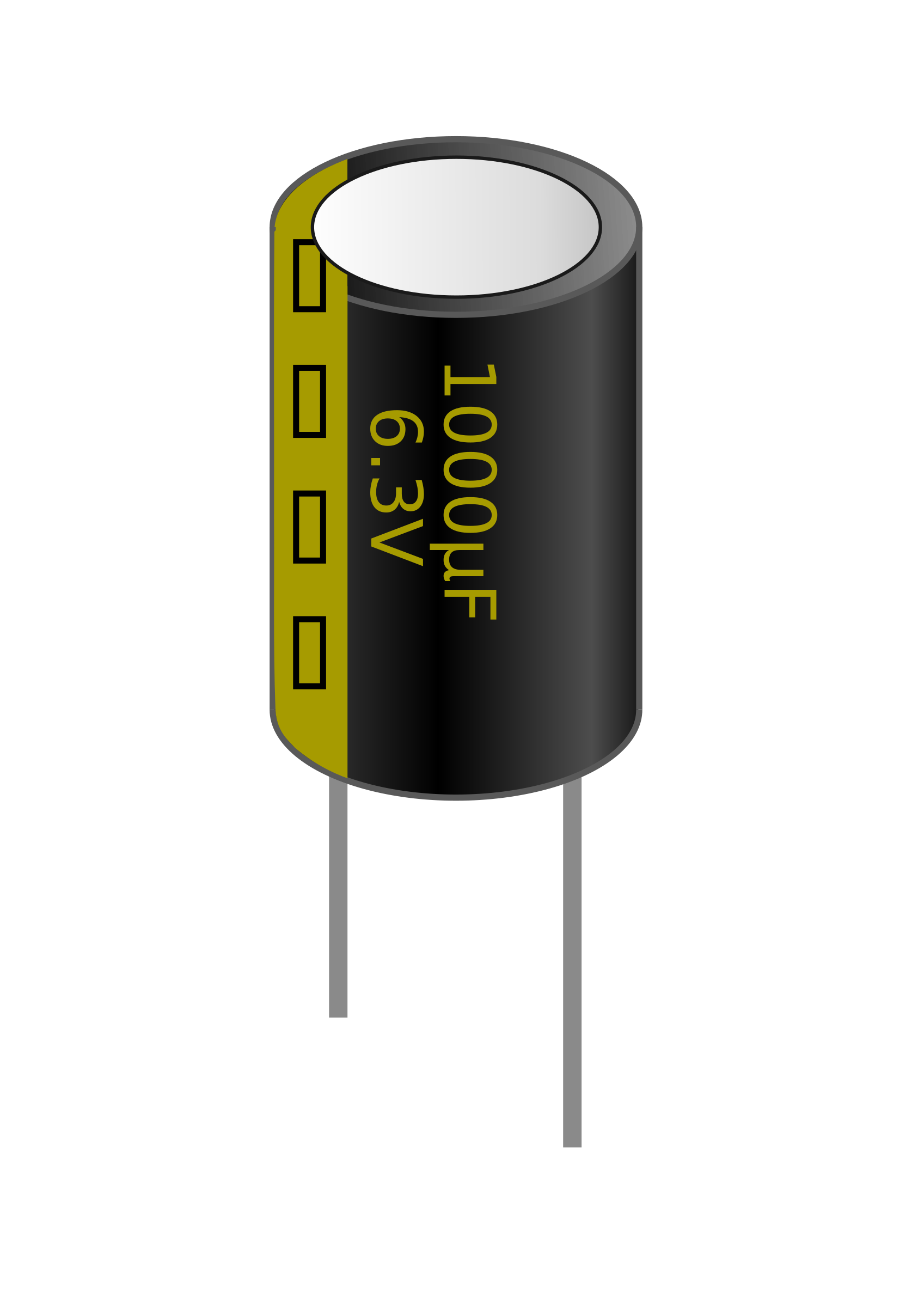 1000μF Electrolytic Capacitor by PacketCrash