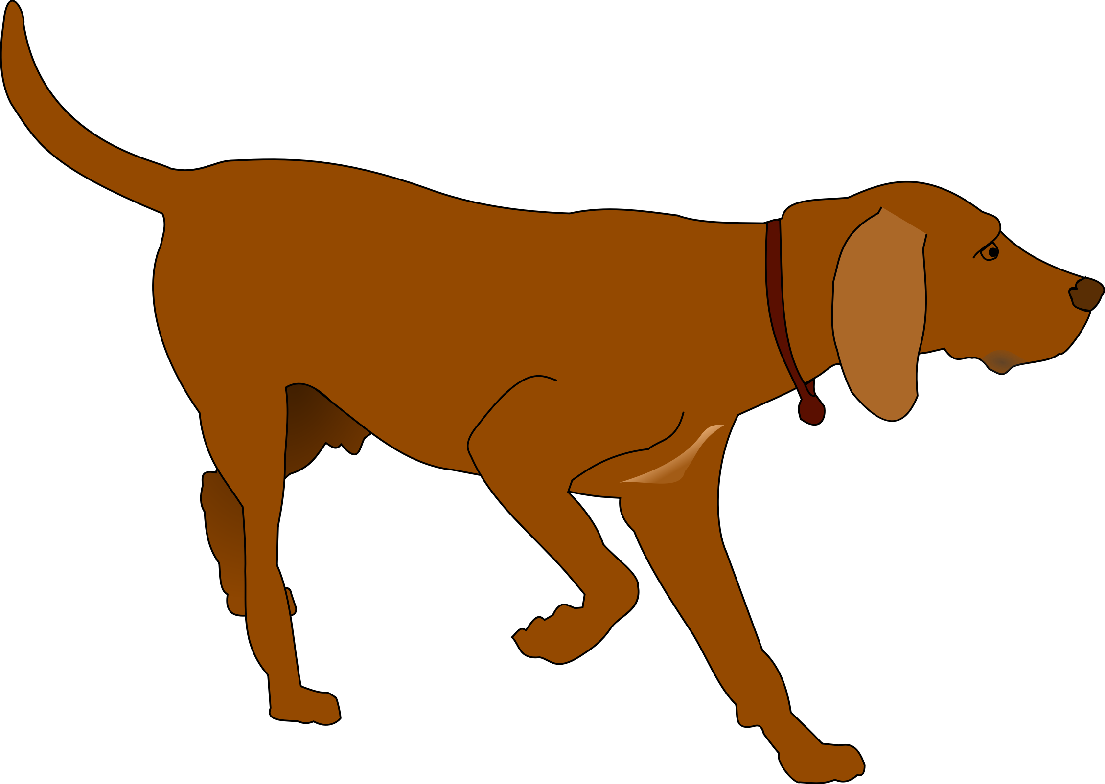Hunting Dog by JayNick