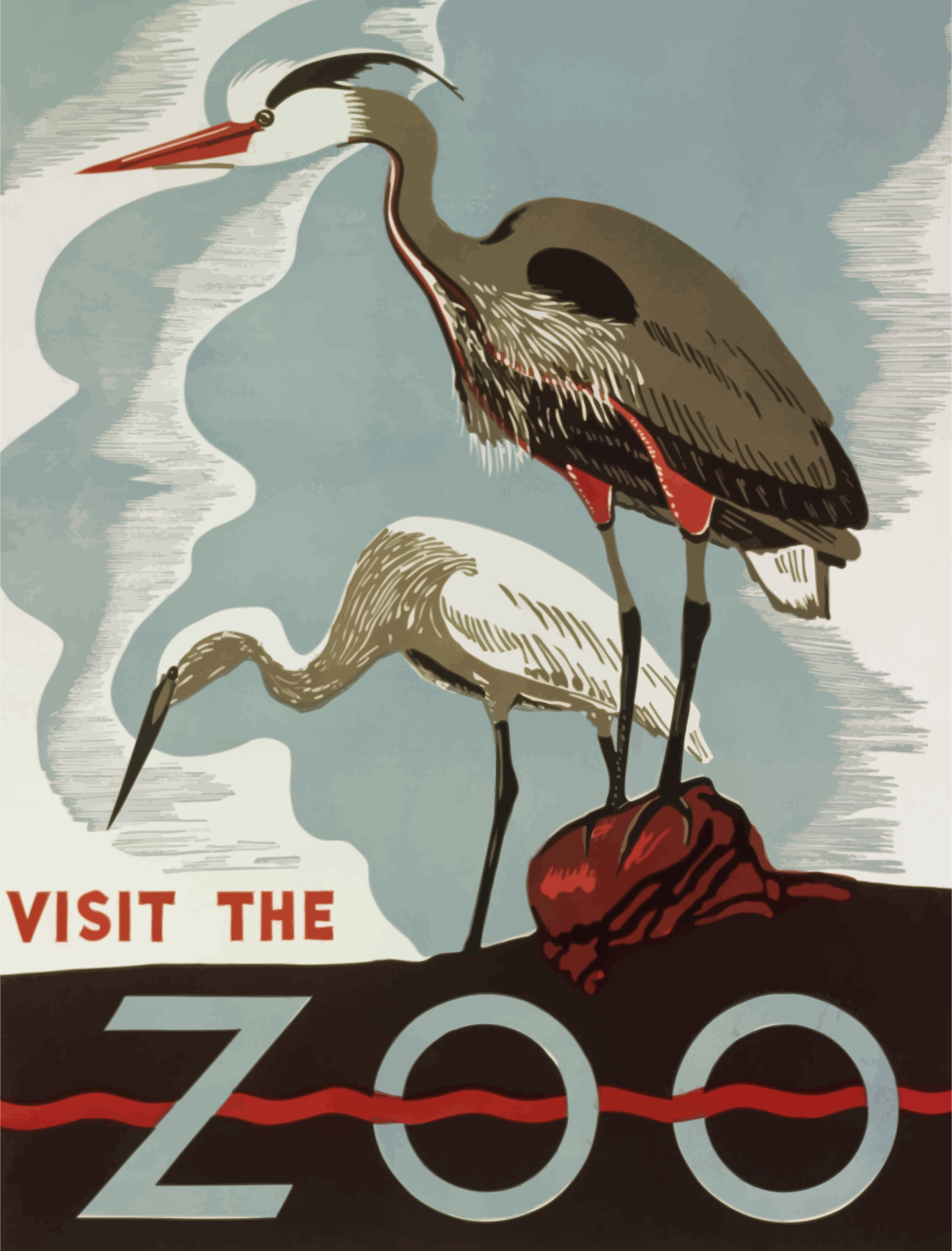 Visit zoo poster 4 by Firkin