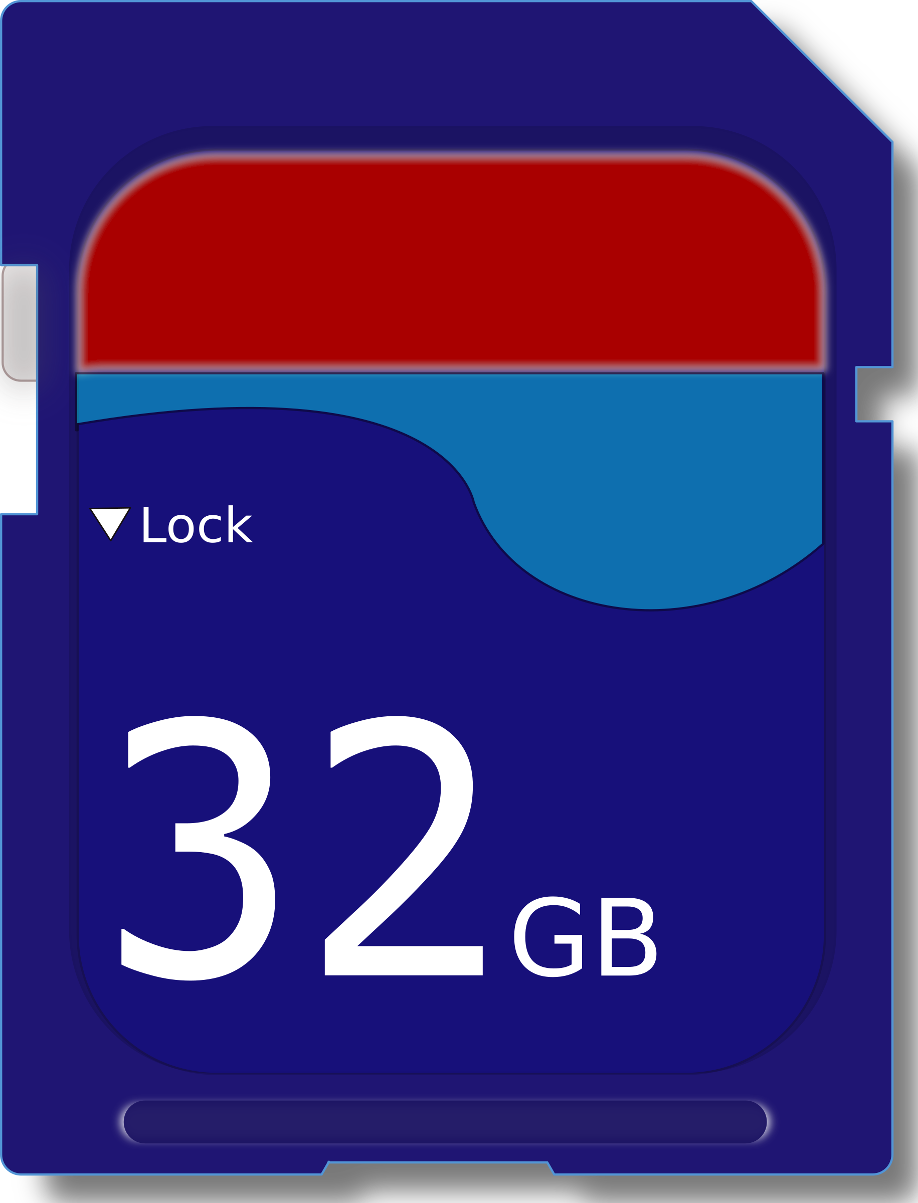 32GB SD Card by j4p4n