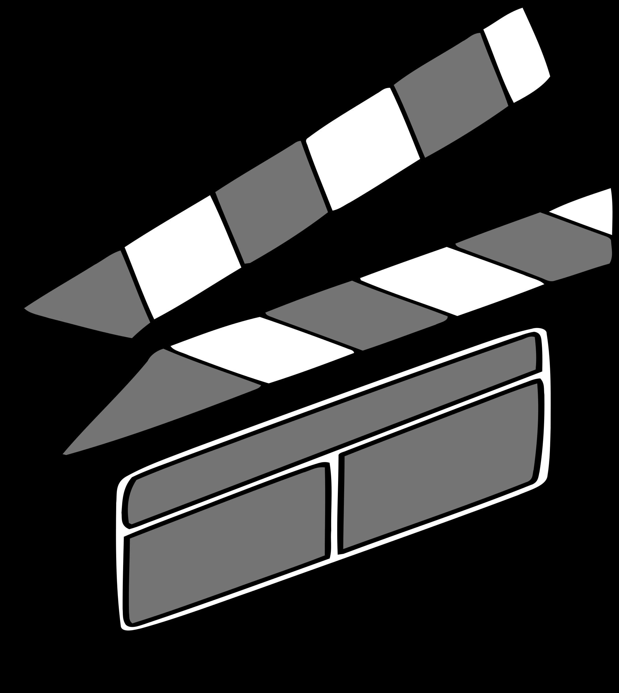 Clipart - Film Clapper