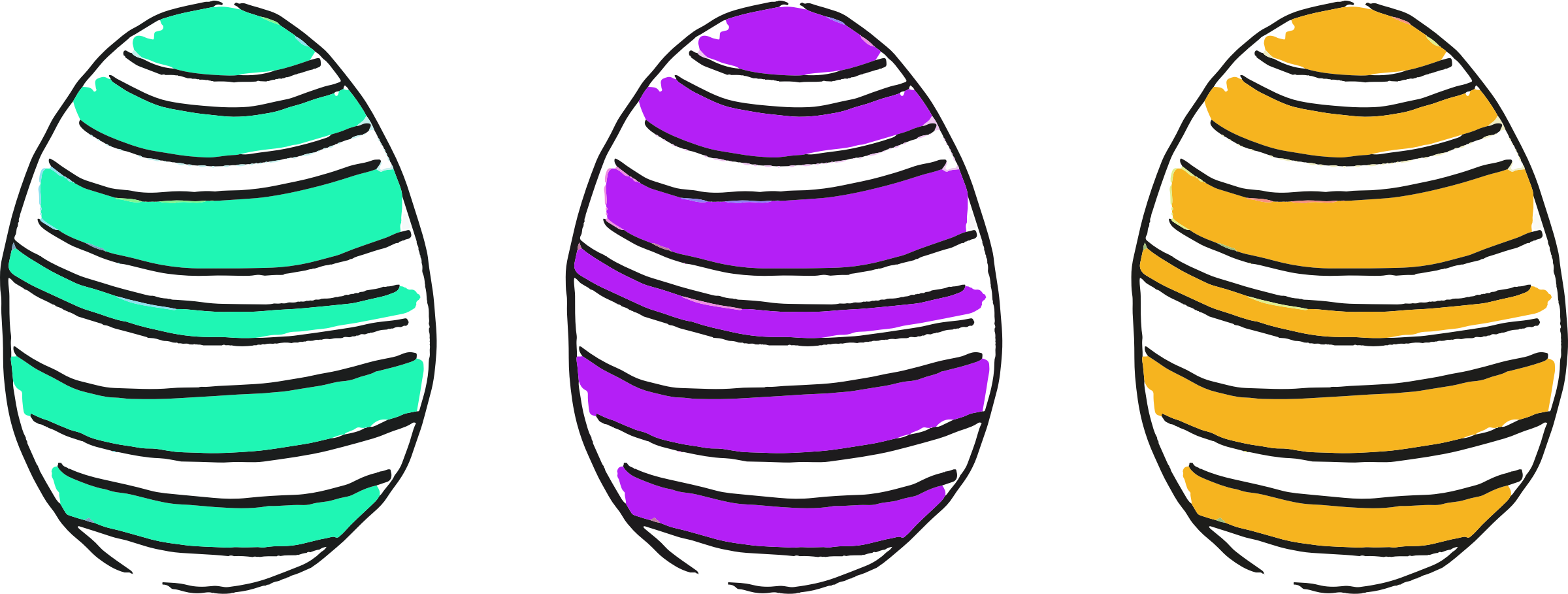 Easter eggs 7 by Firkin