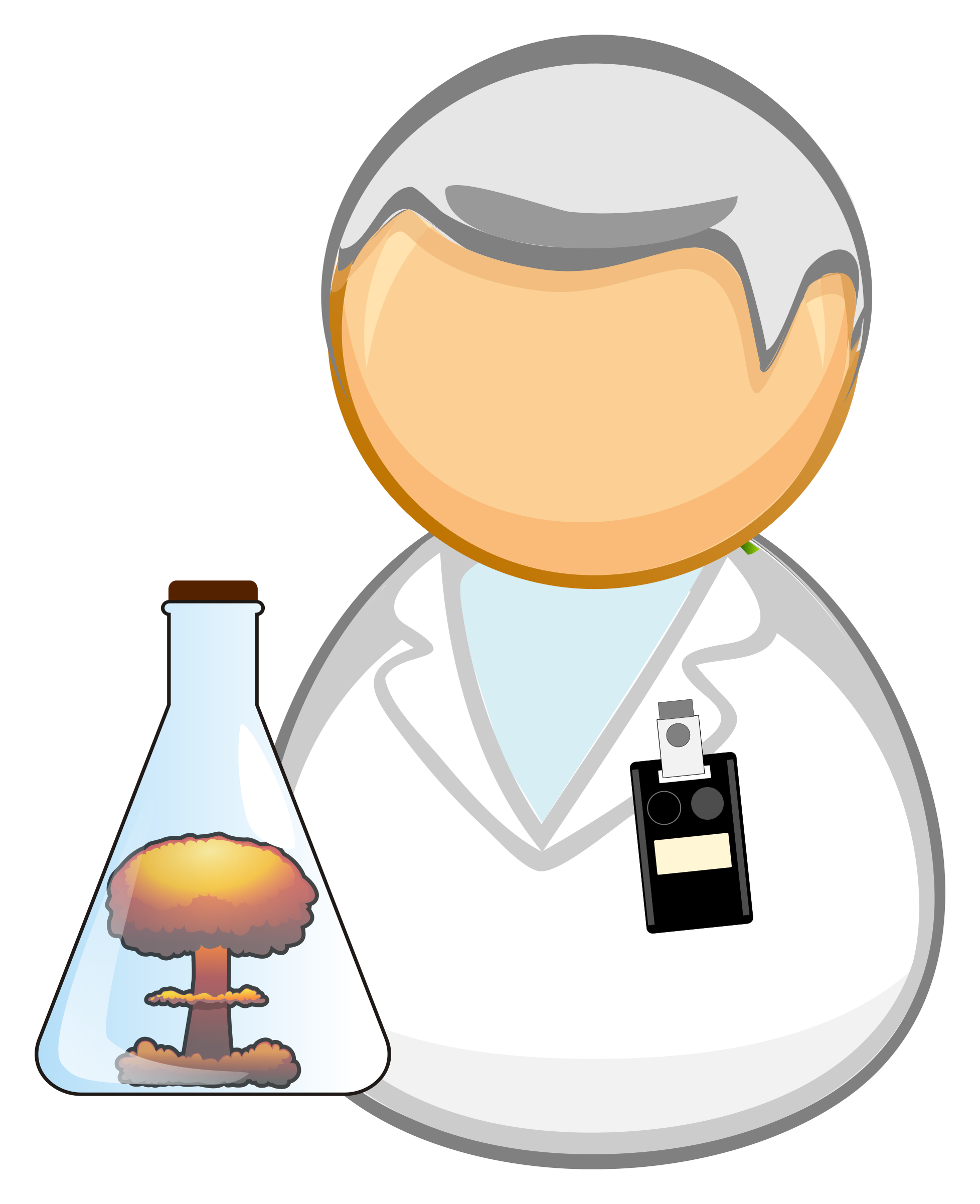 Nuclear scientist / researcher by Juhele