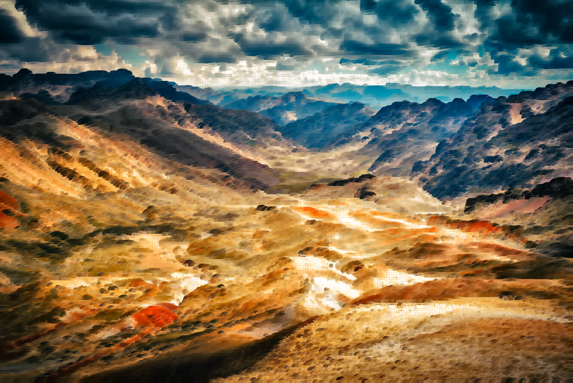 Surreal Peruvian Mountains by GDJ