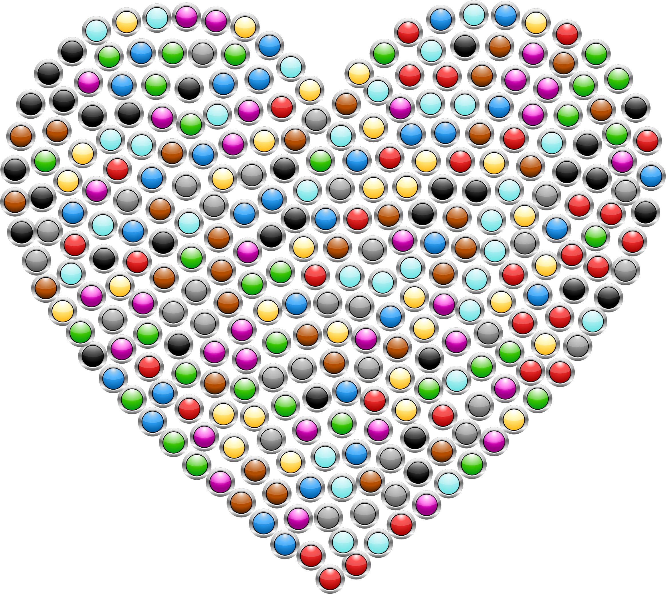 Heart Buttons by GDJ