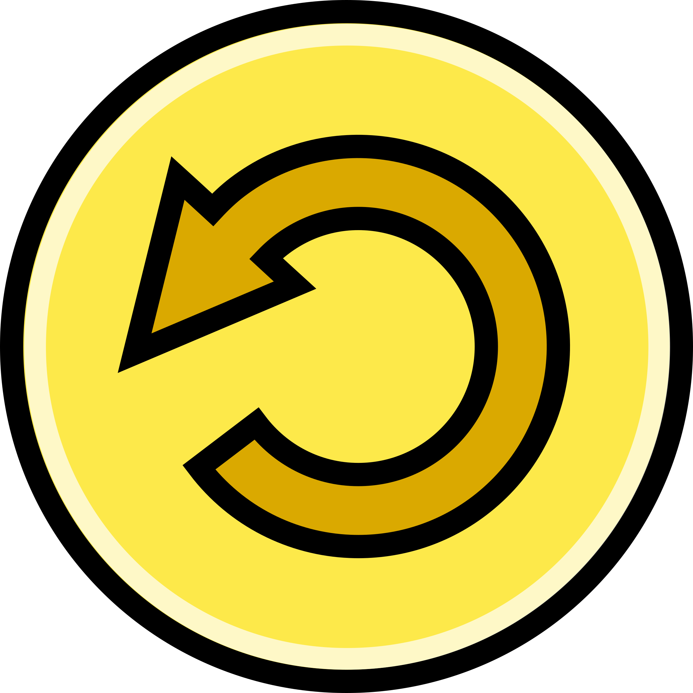 Button - Revert (Yellow) by Technaturally