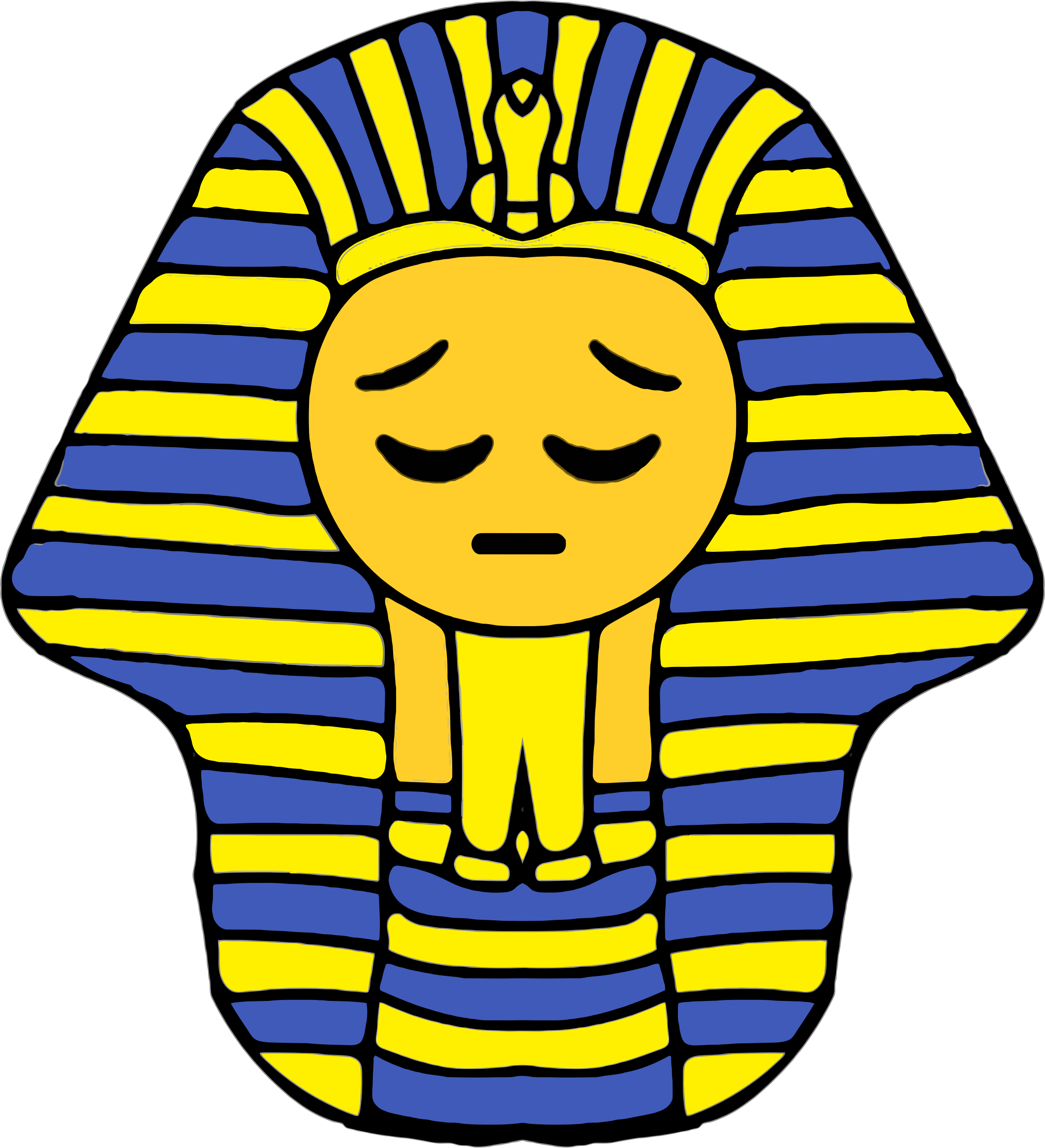 Pharaoh Smiley 3 by GDJ