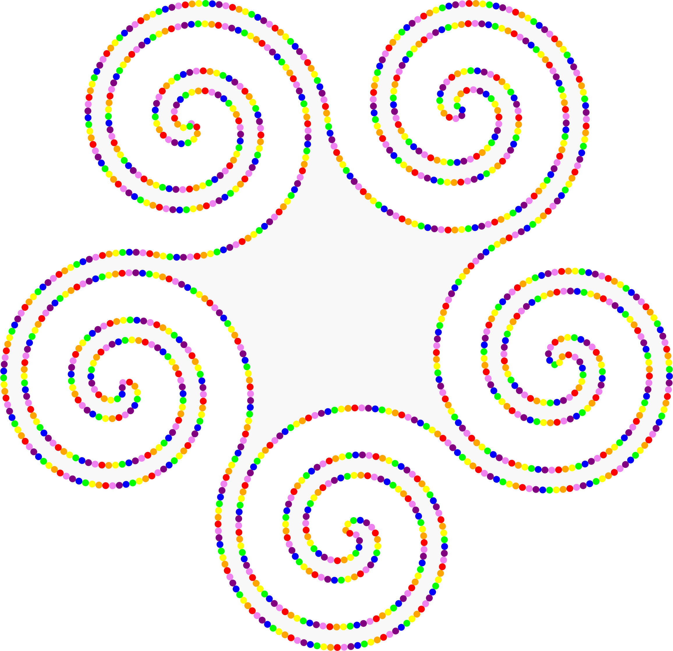 Animated Pentaskelion of Beads by JayNick
