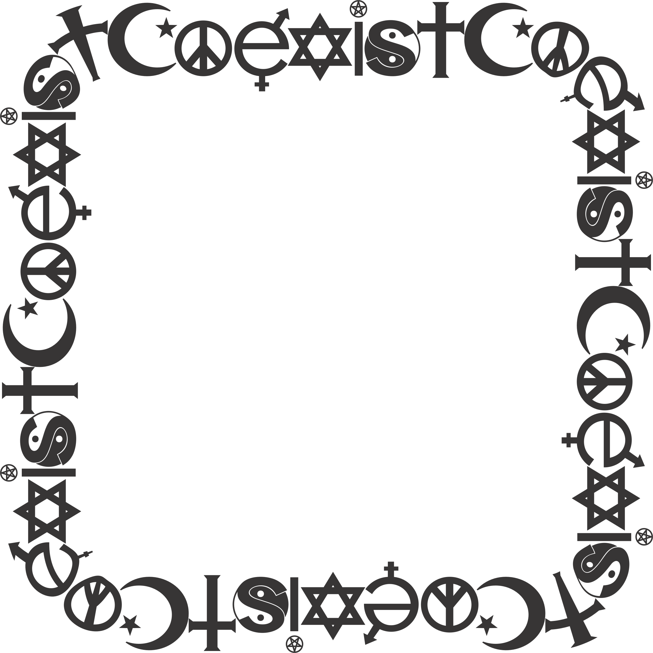 Coexist Frame 2 by GDJ
