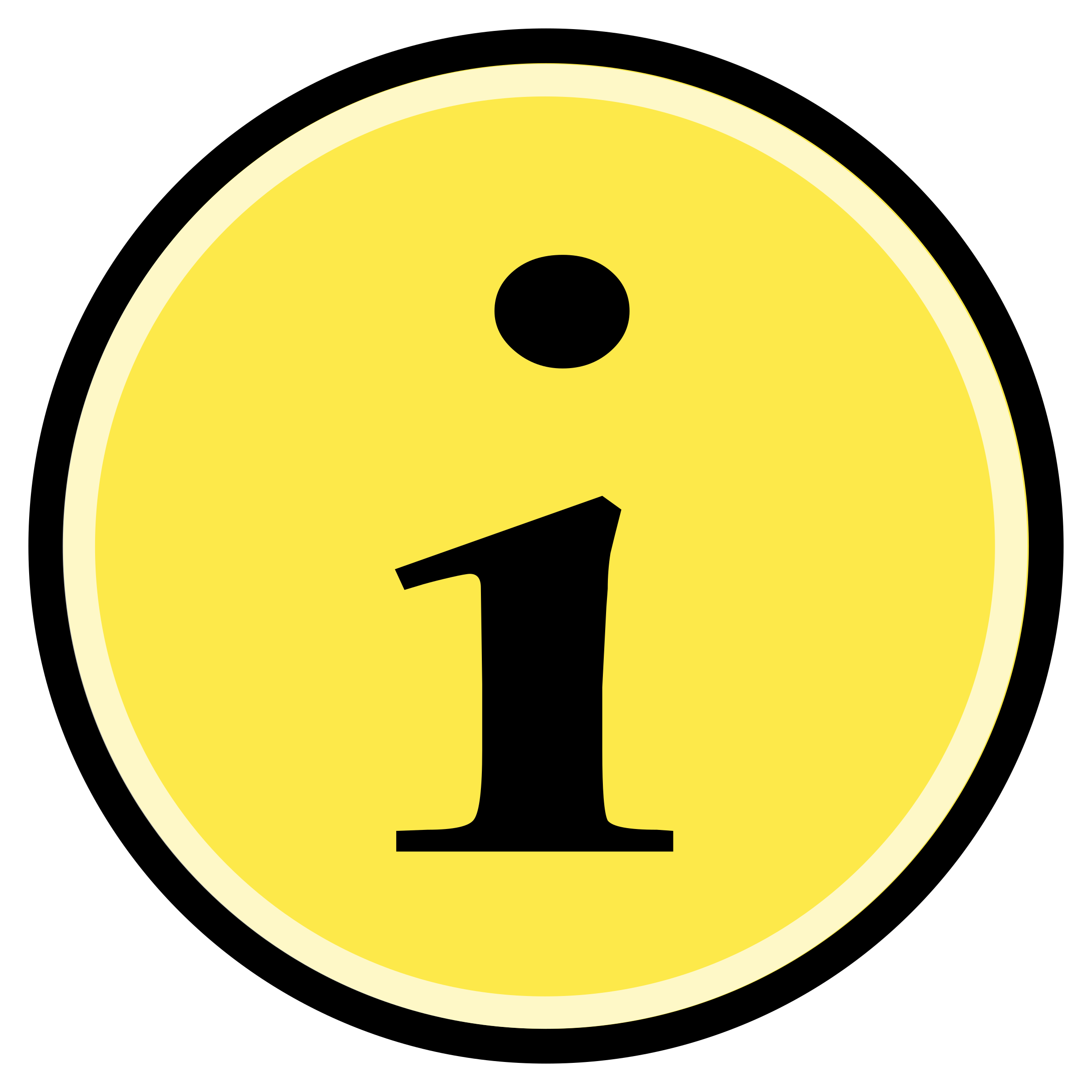 Button - Information (Yellow) by Technaturally