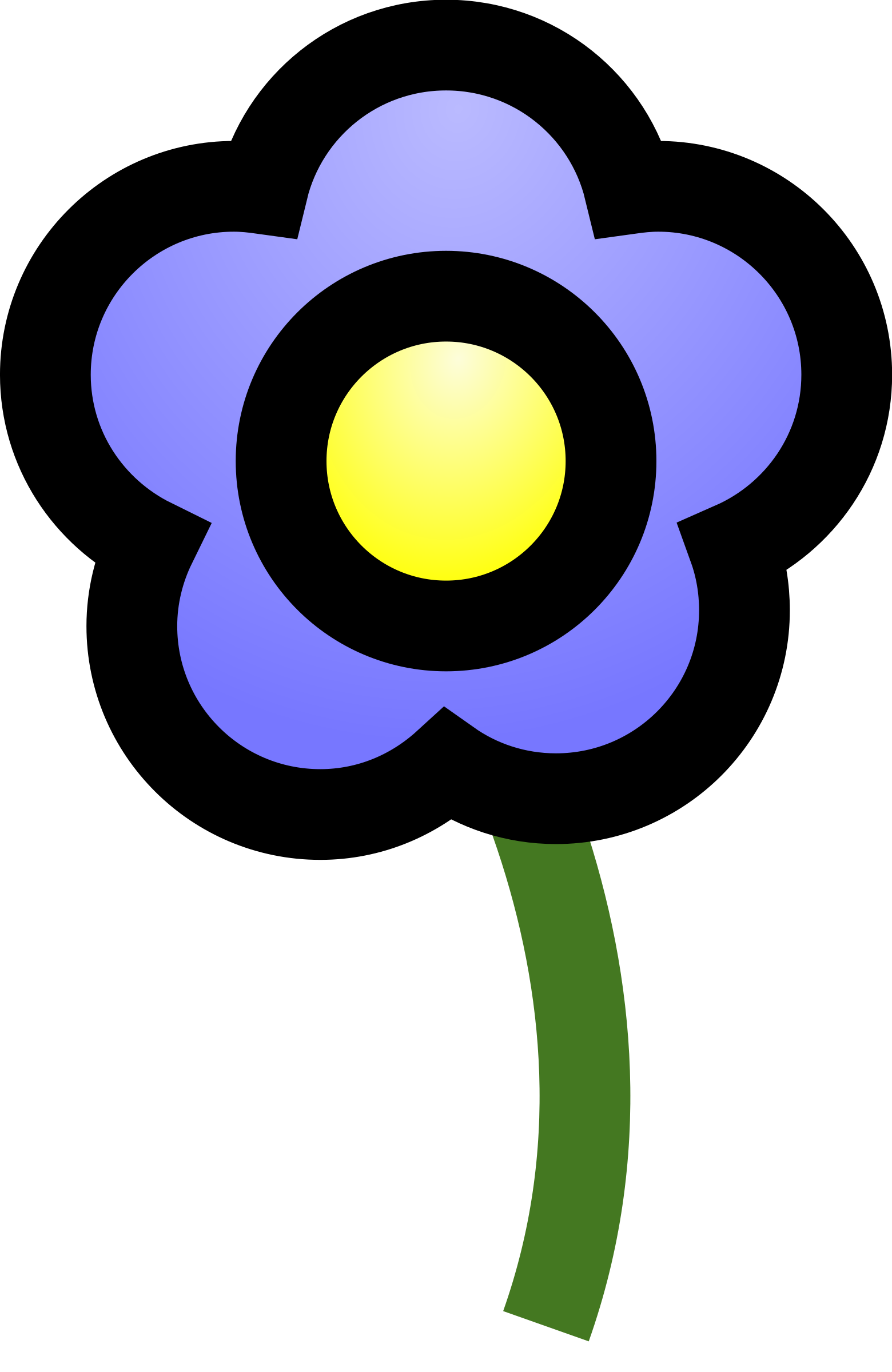 blue_flower by cie