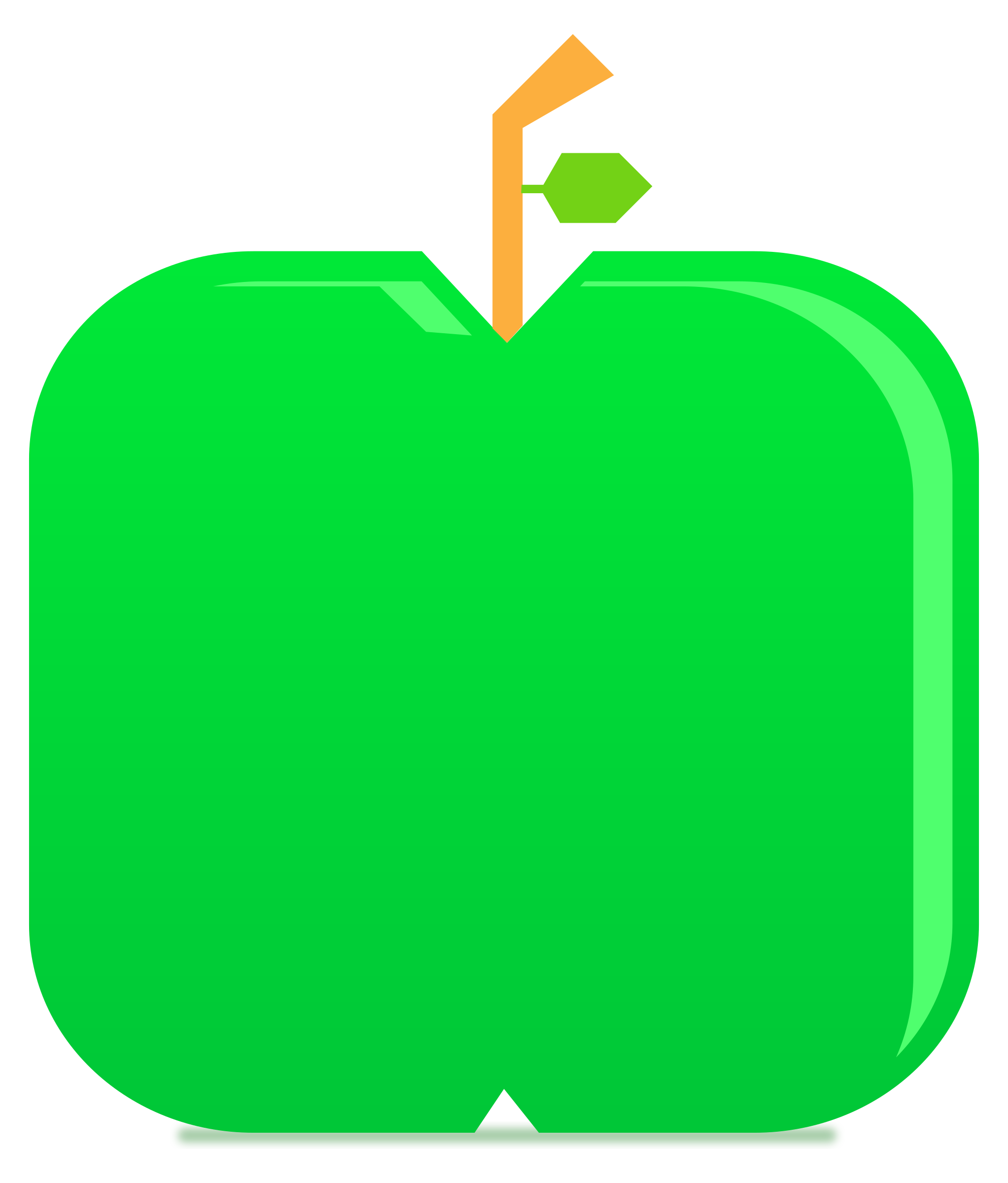 apple fruit clip art. green apple fruit flat \u0026 minimal style clip art
