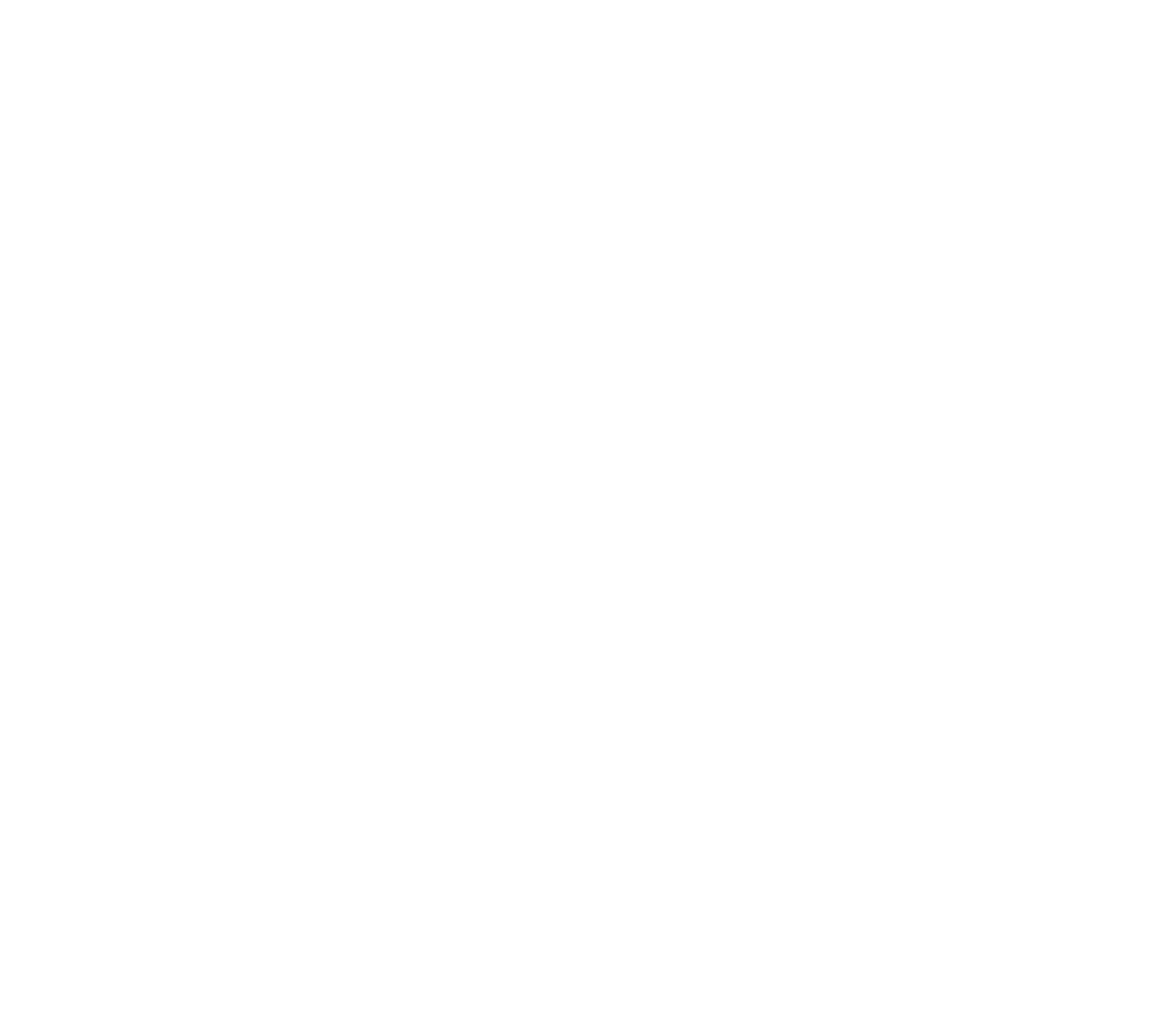 Flat white snowflake with hollow circular center by gabe