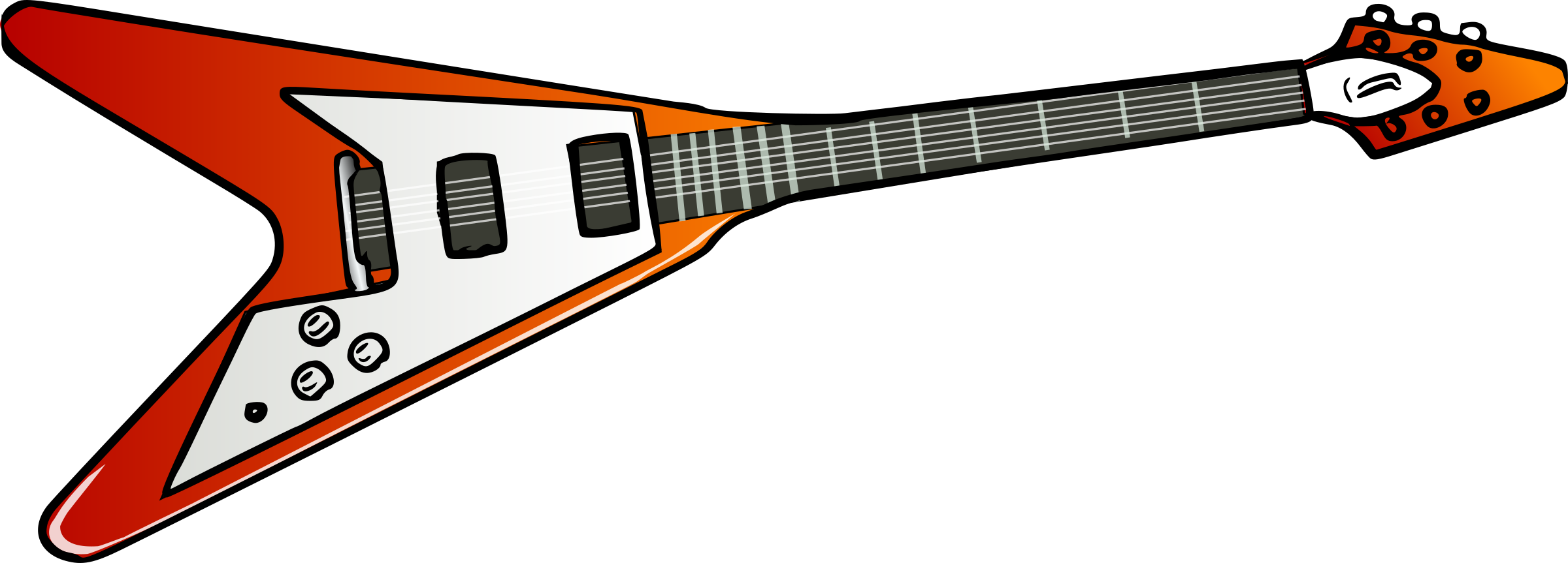Flying V guitar by TheresaKnott