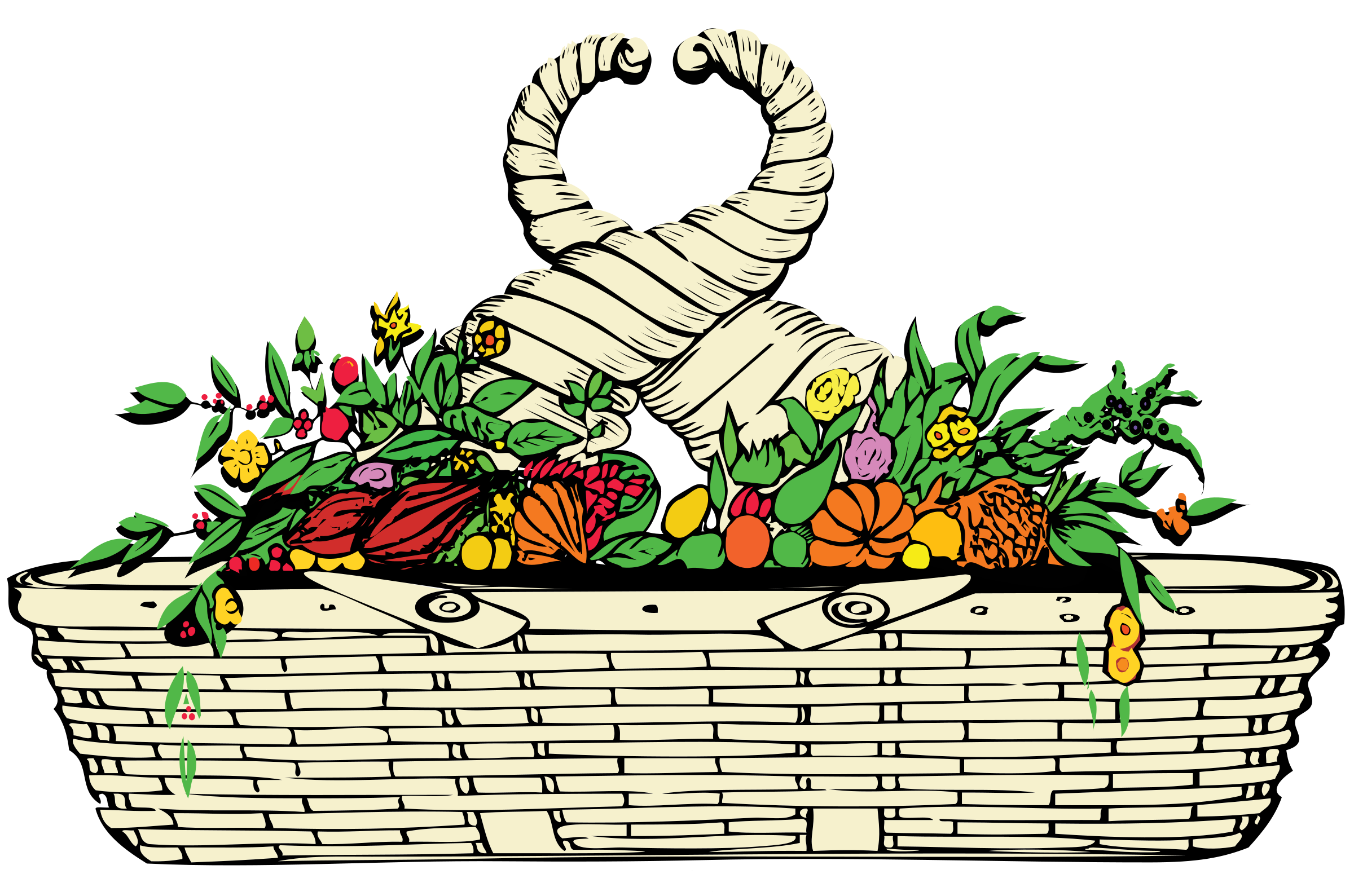 Basket of Plenty by j4p4n