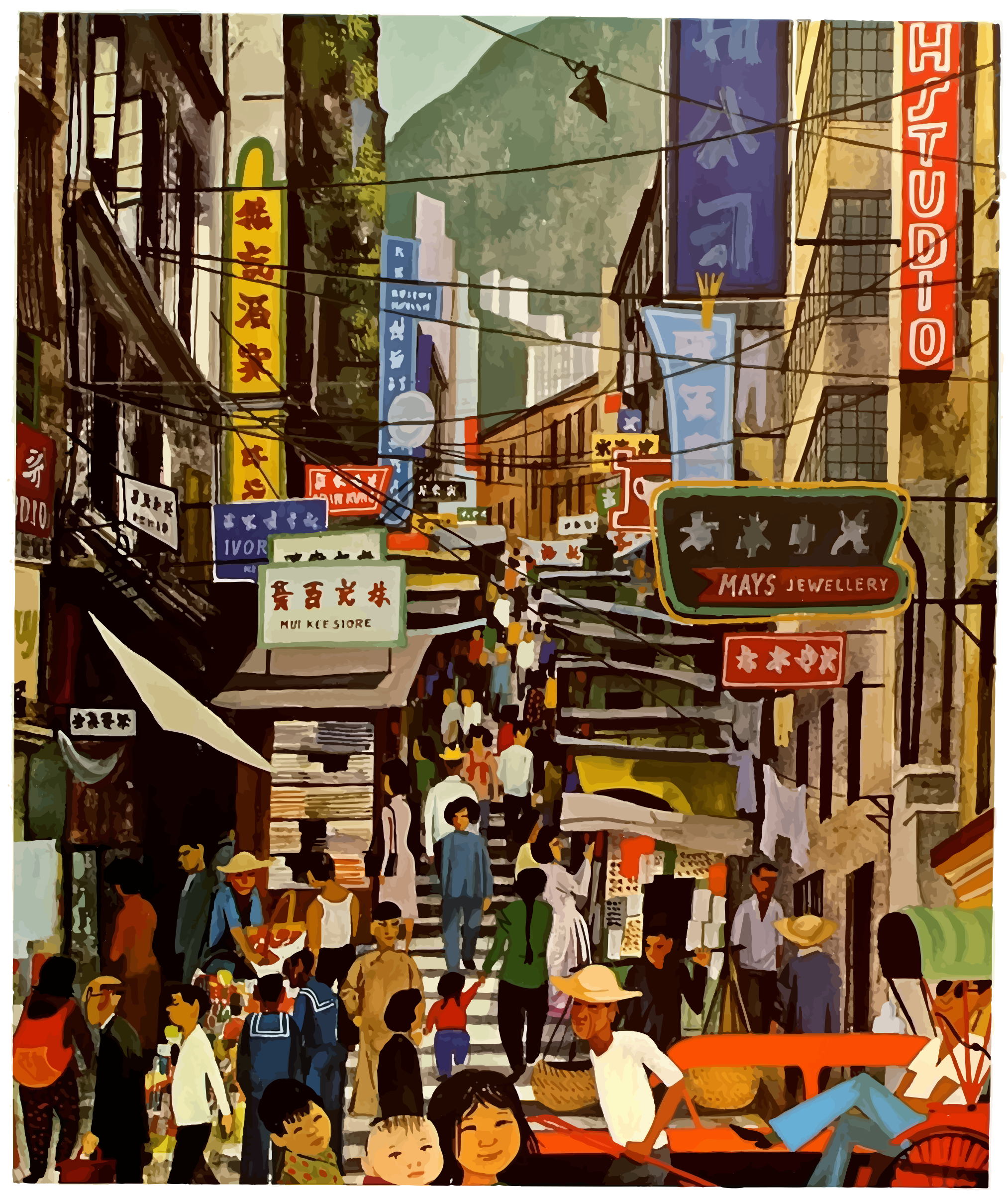 Vintage Hong Kong by j4p4n