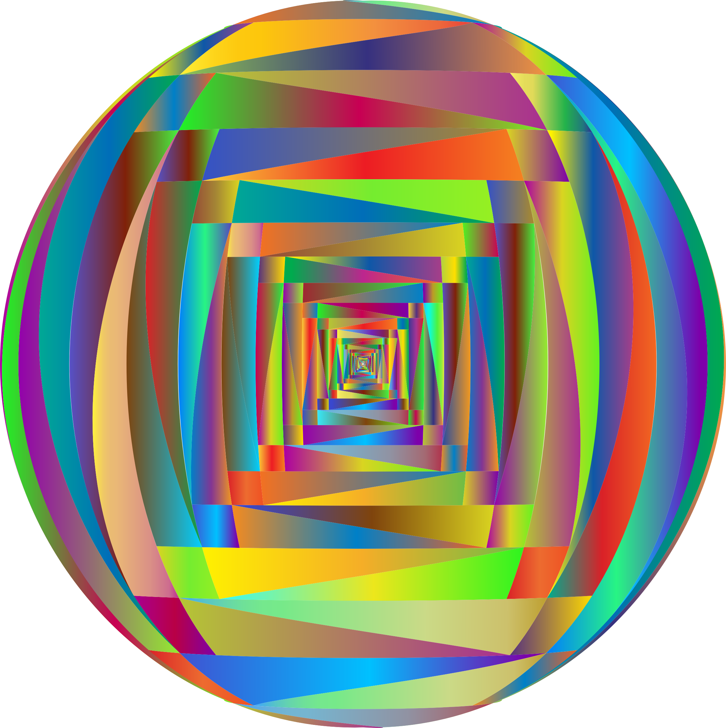 Abstract Polygonal Orb 2 by GDJ