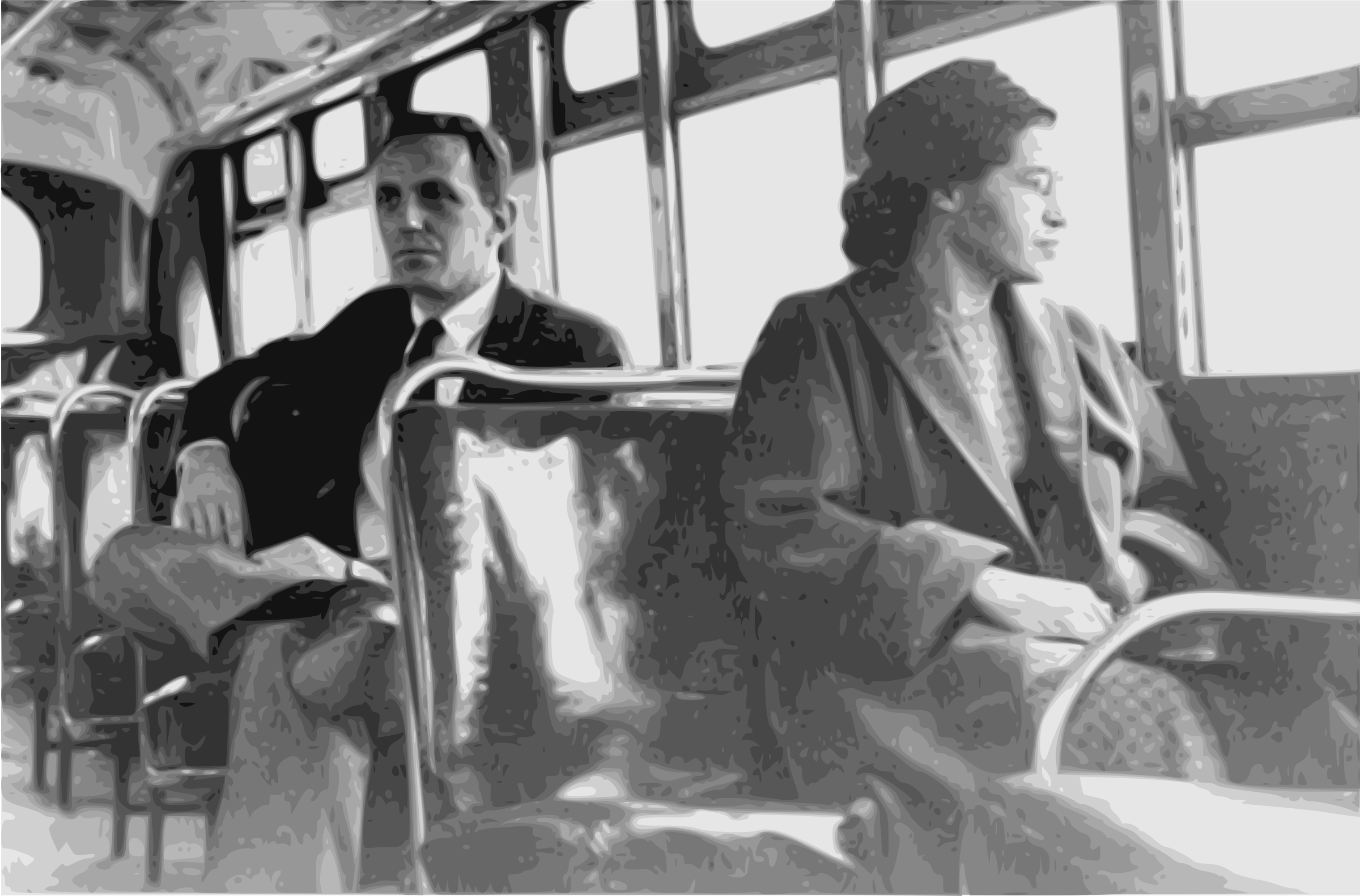 Rosa Parks on a Bus by j4p4n