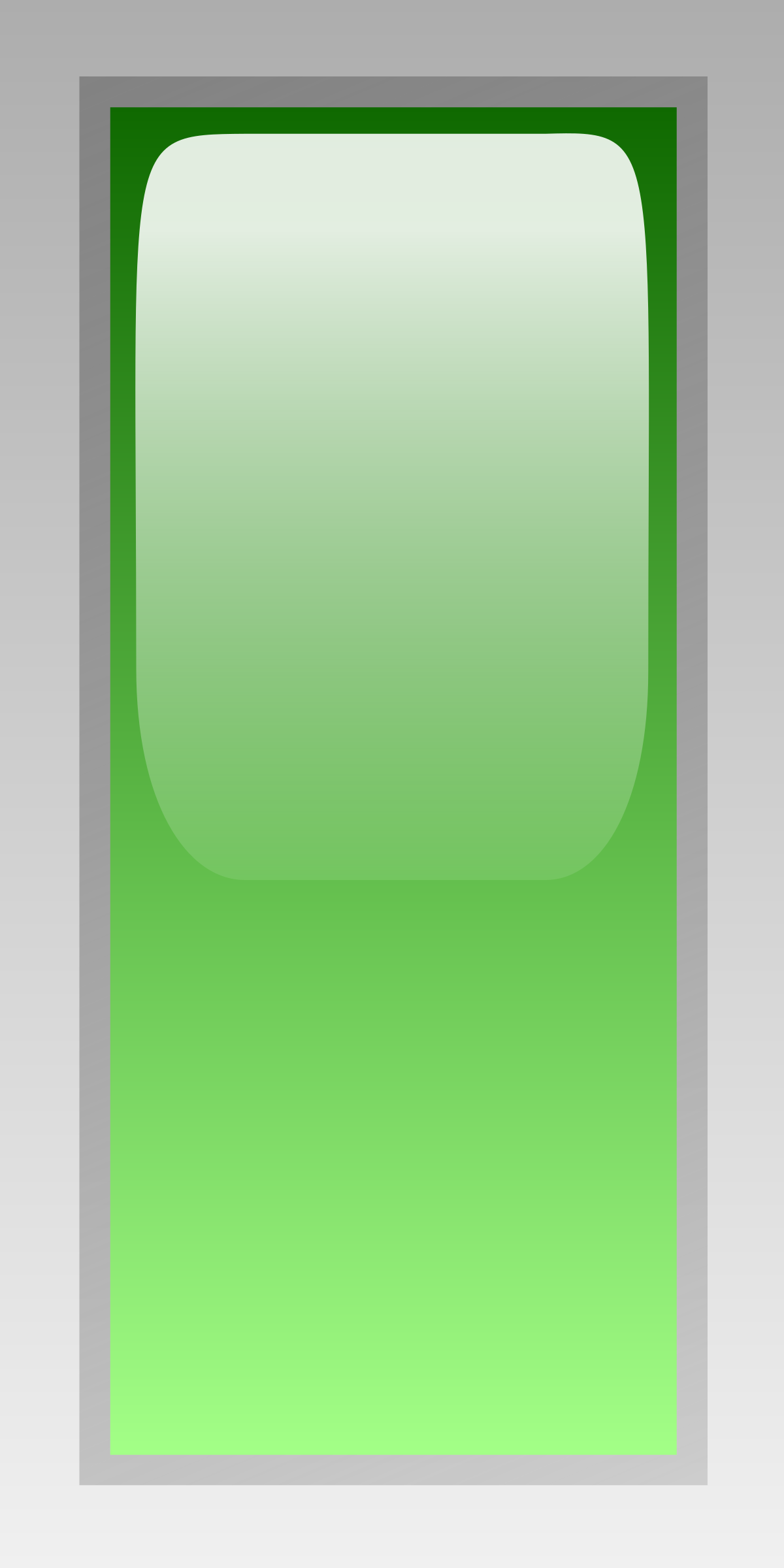 led rectangular v green by jean_victor_balin