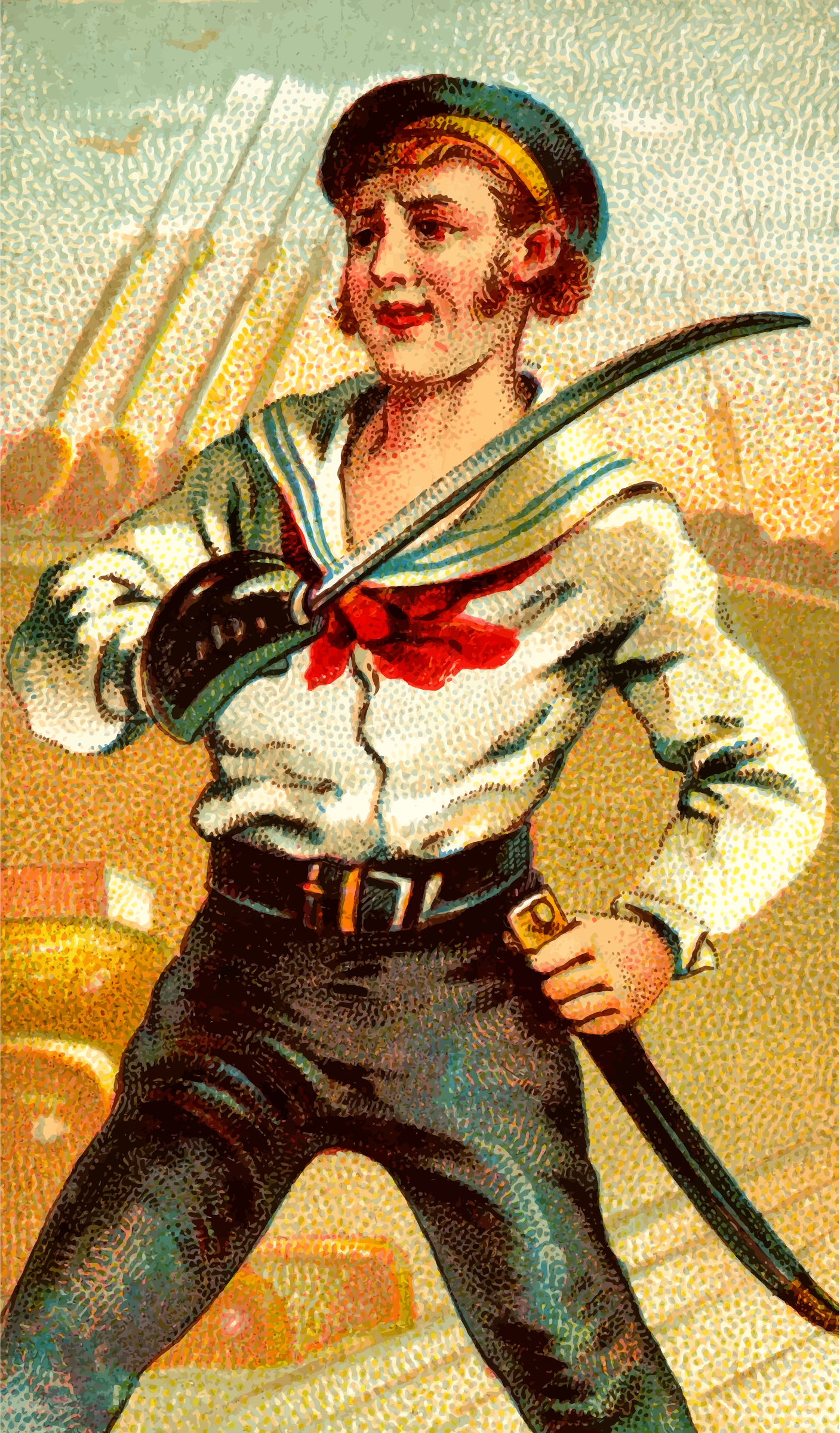 Cigarette card - Cutlass by Firkin