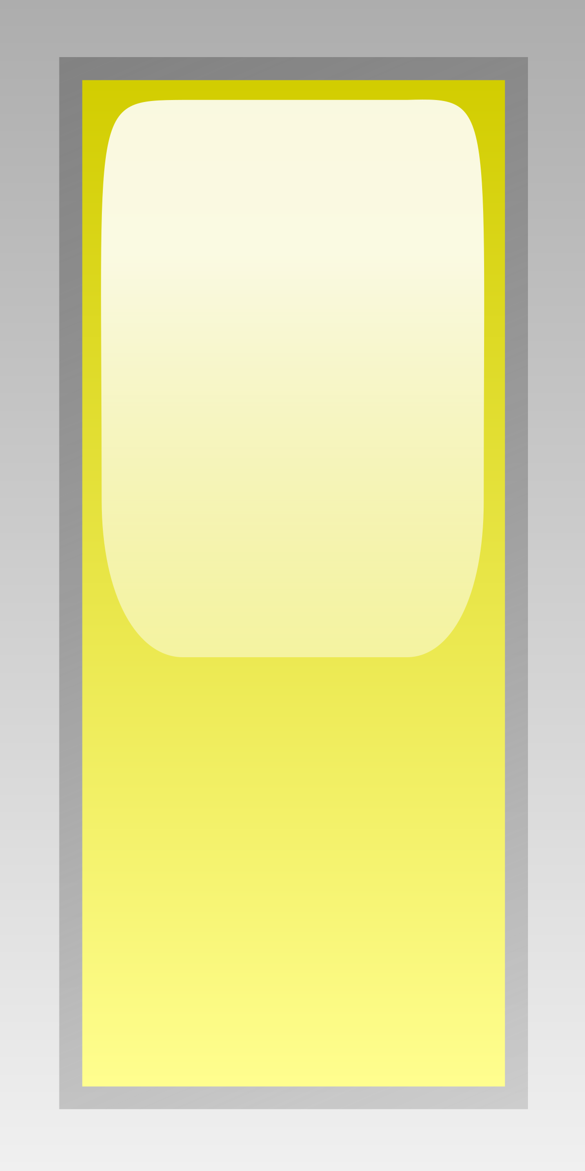 led rectangular v yellow by jean_victor_balin