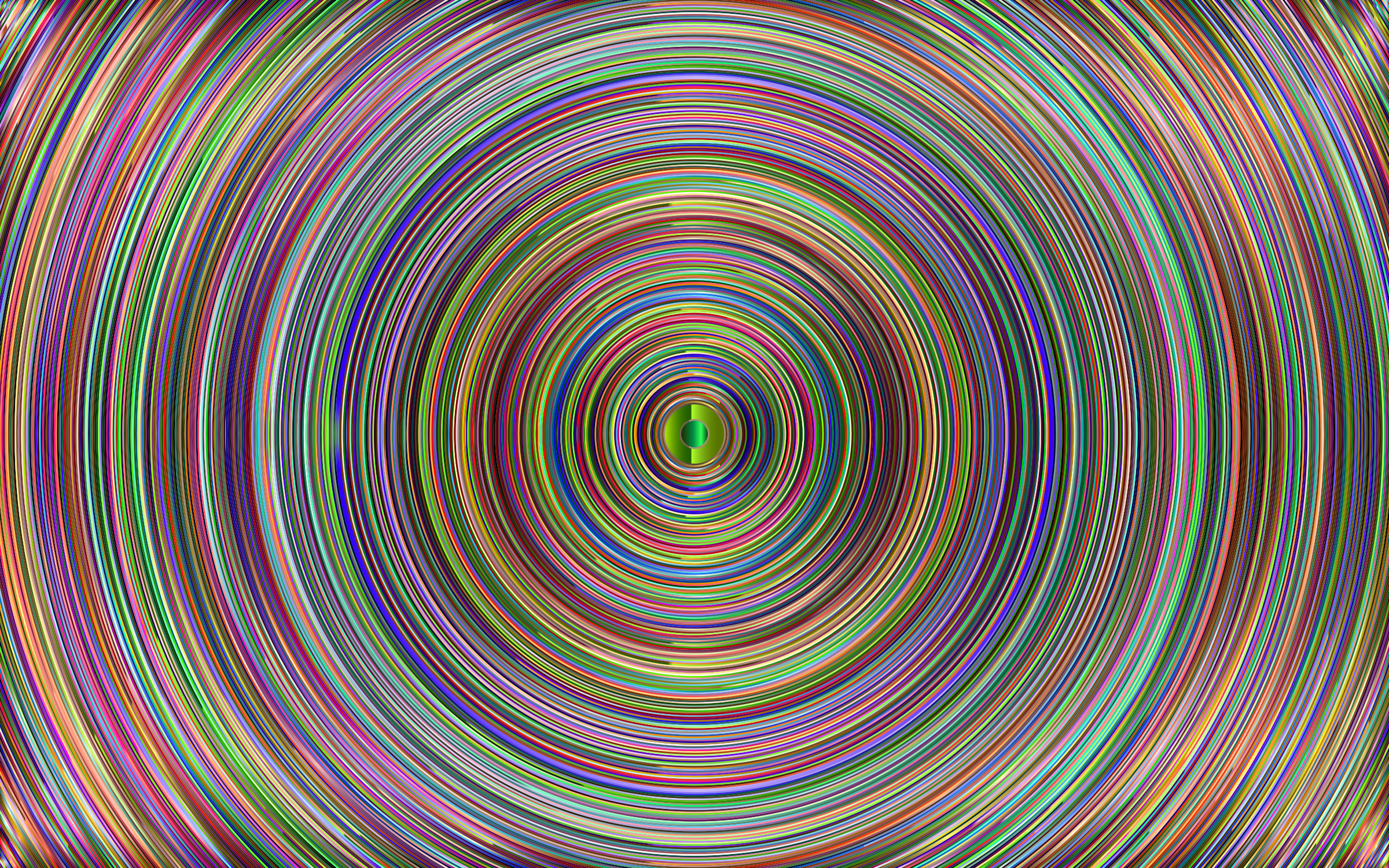 Chromatic Concentric by GDJ
