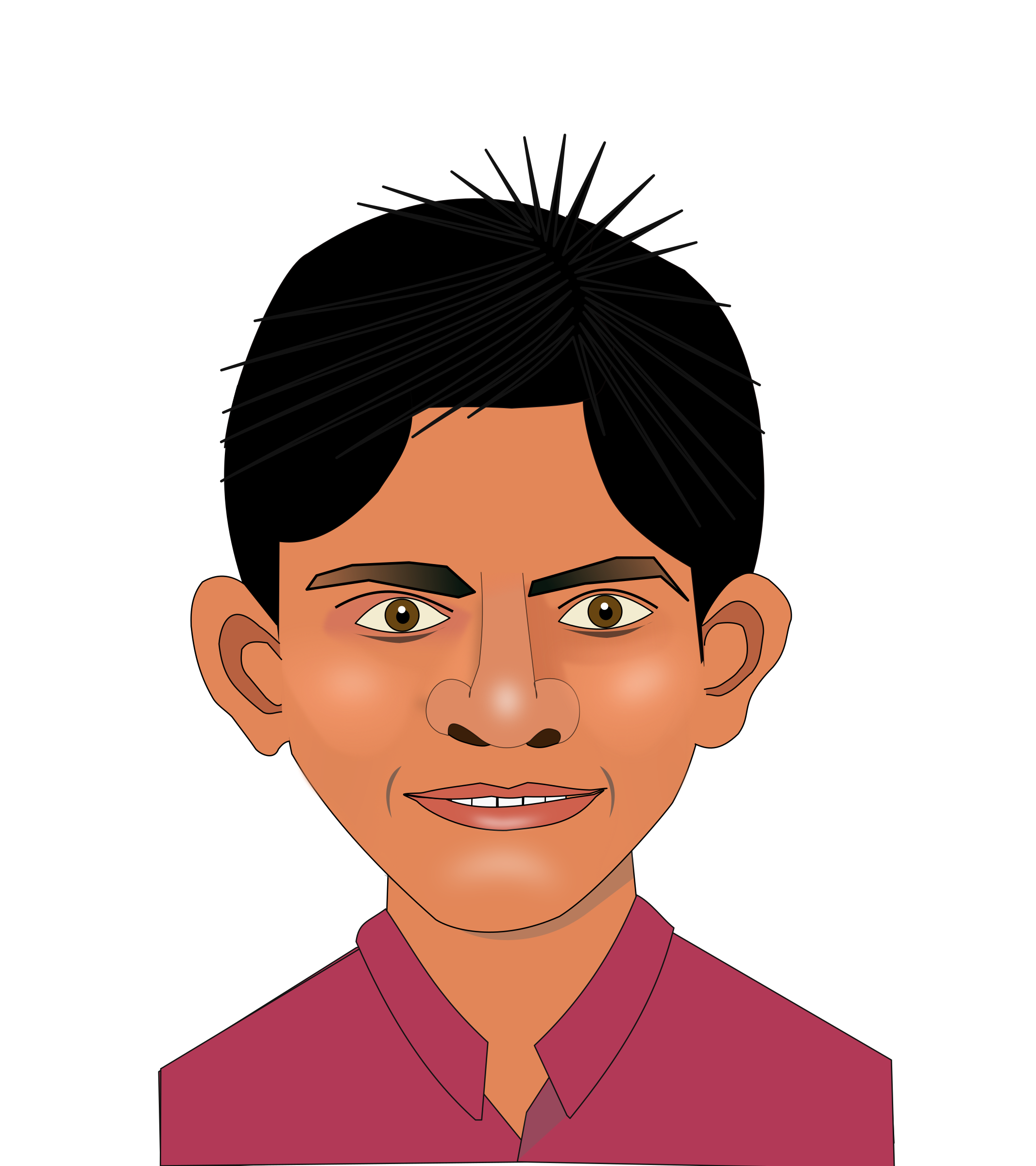 Portrait of Indian Lad by aukipa