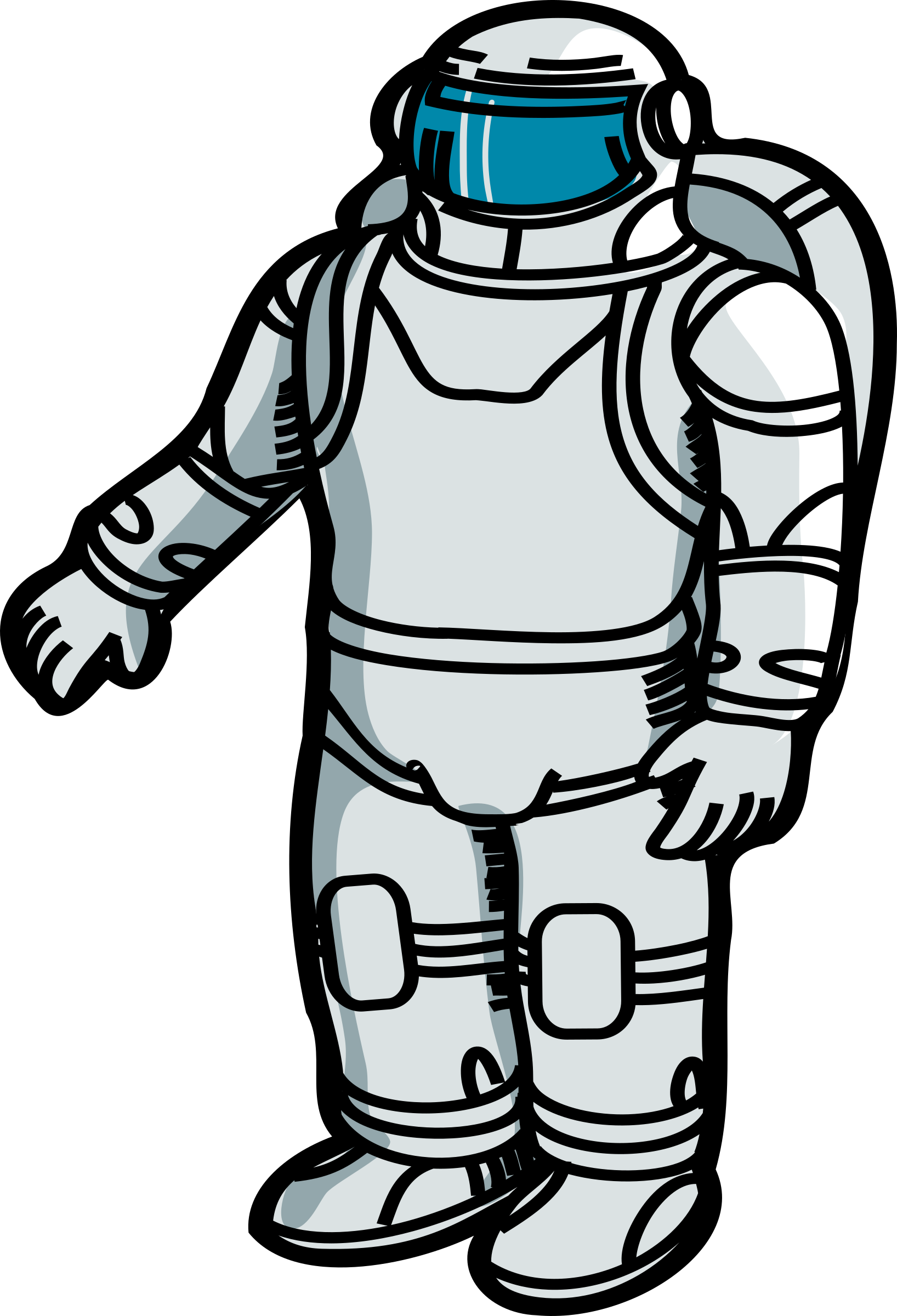 Simple Astronaut by j4p4n
