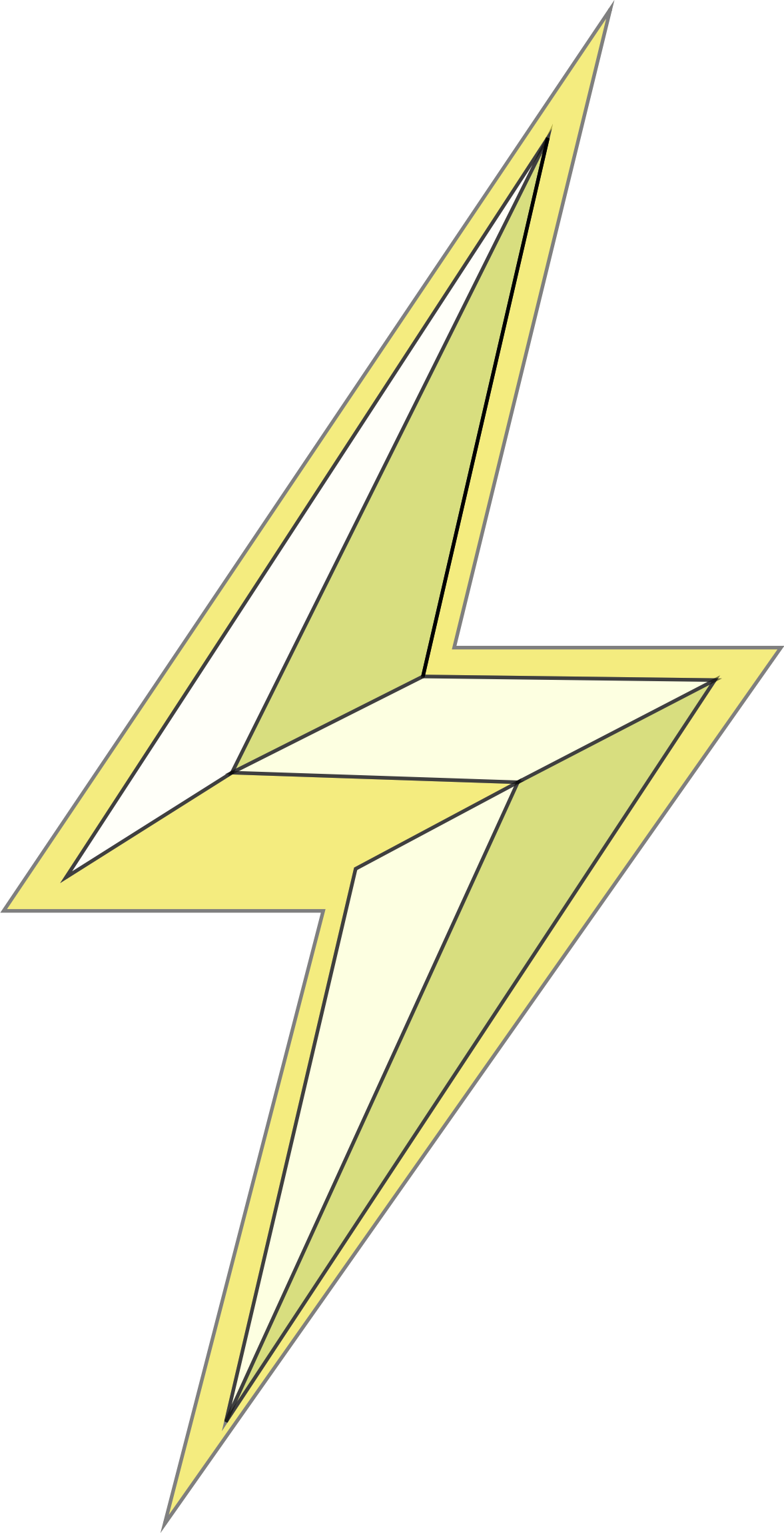 Stylized Lightning Bolt by GDJ