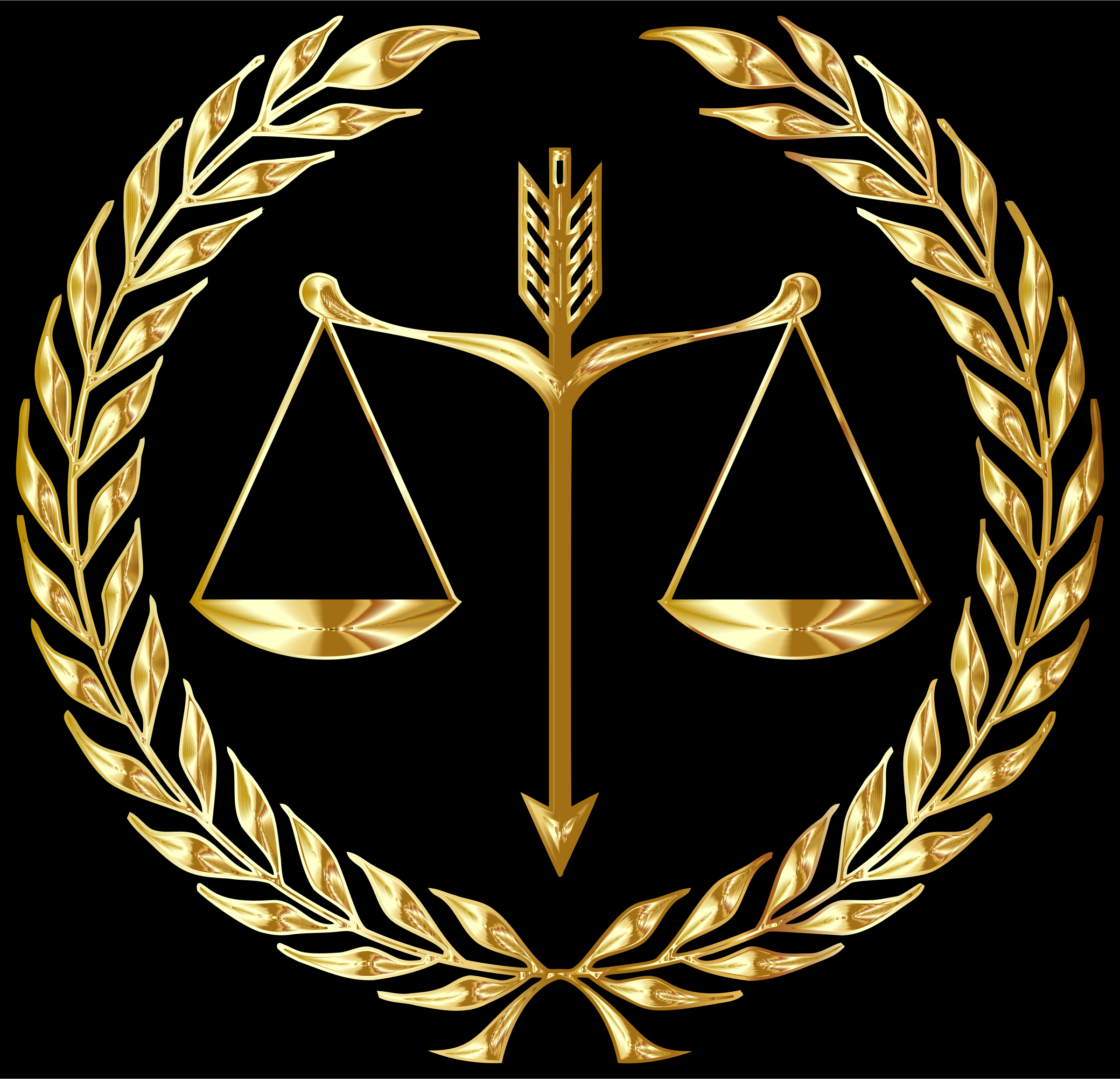 Justice Emblem Gold by GDJ