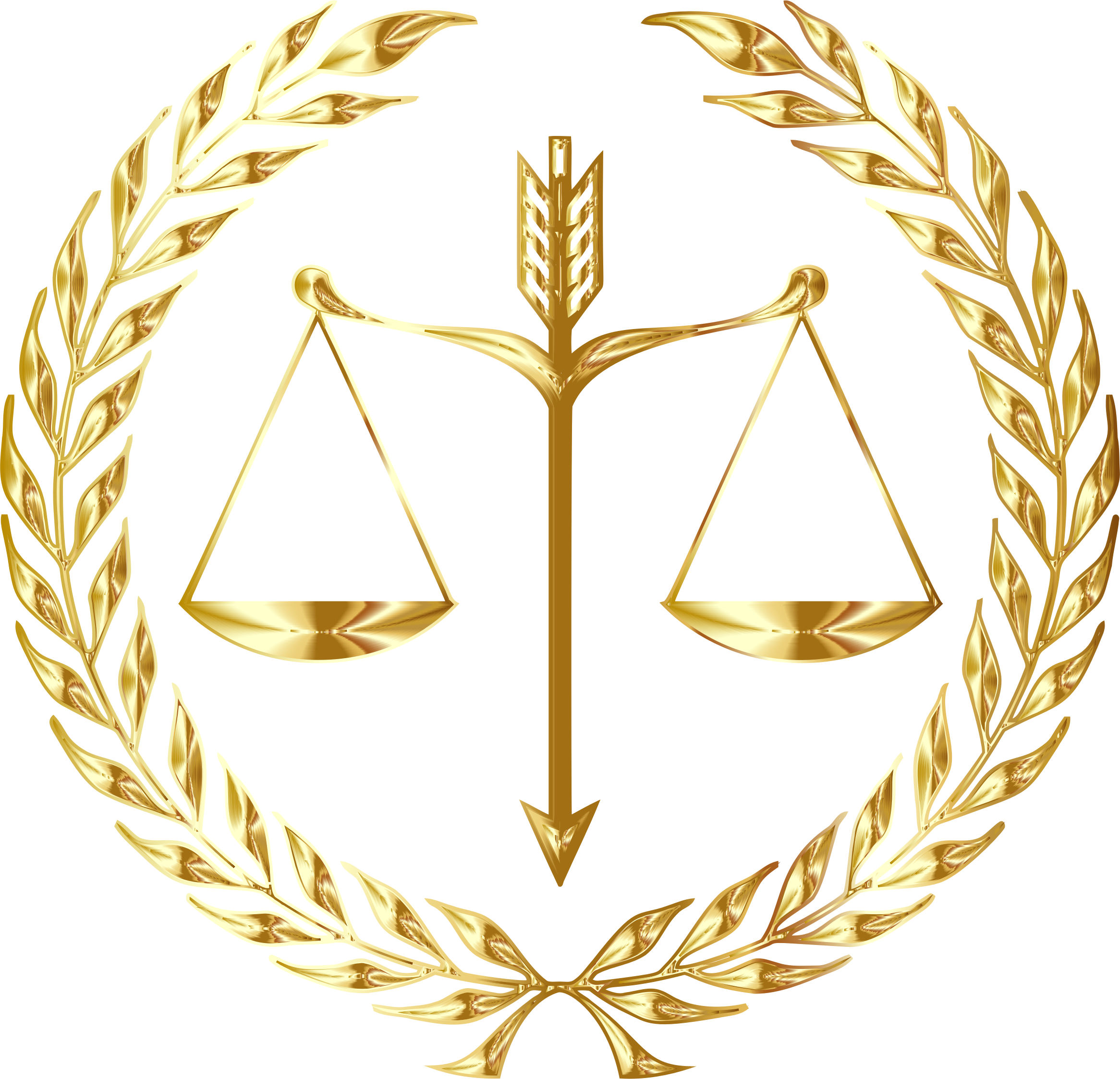 Justice Emblem Gold No Background by GDJ