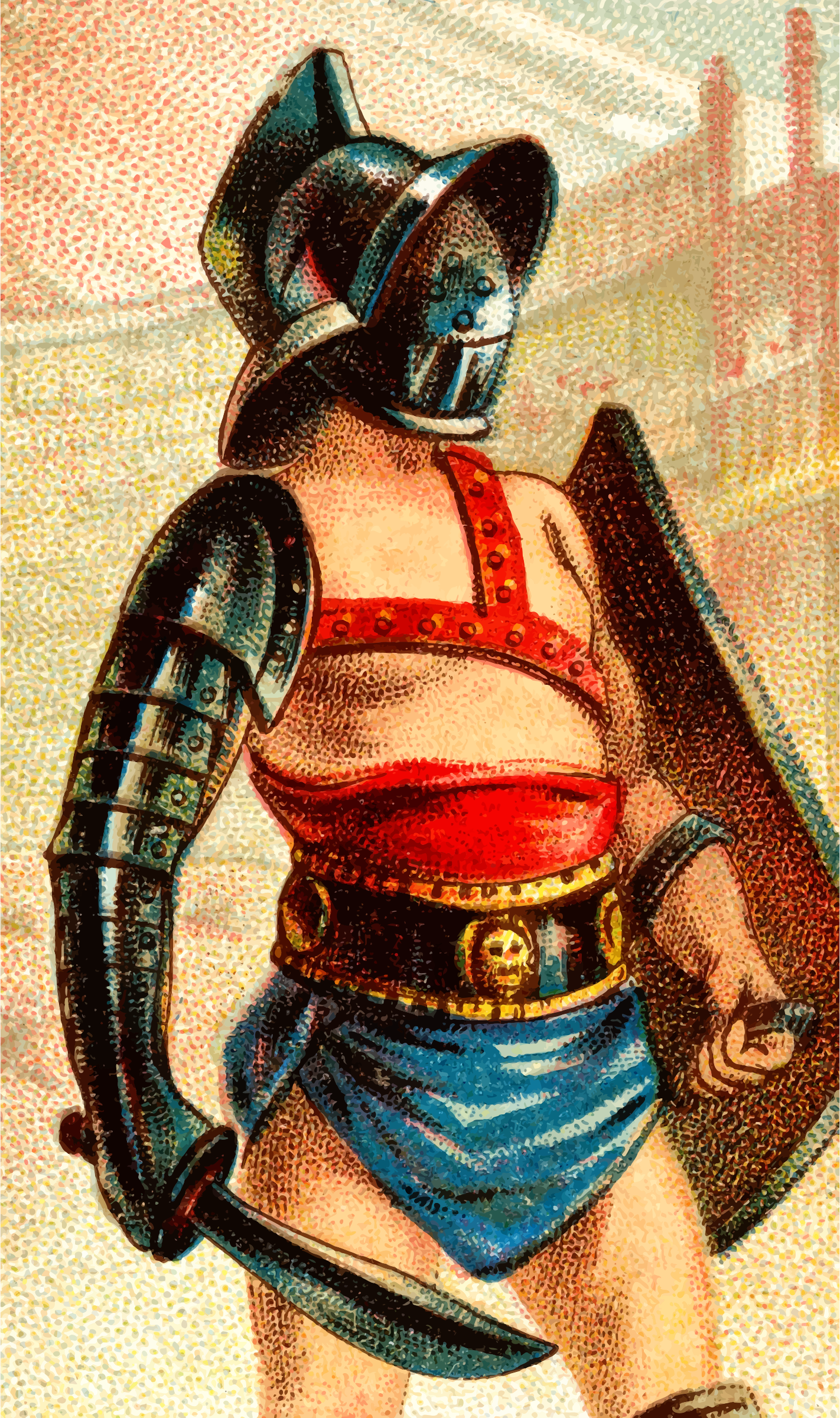 Cigarette card - Gladiator Sword by Firkin
