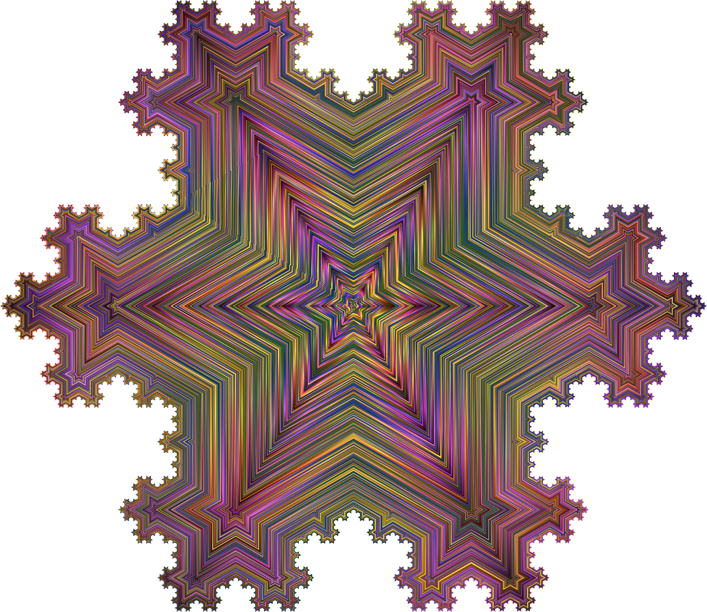 L-System Fractal Chromatic by GDJ