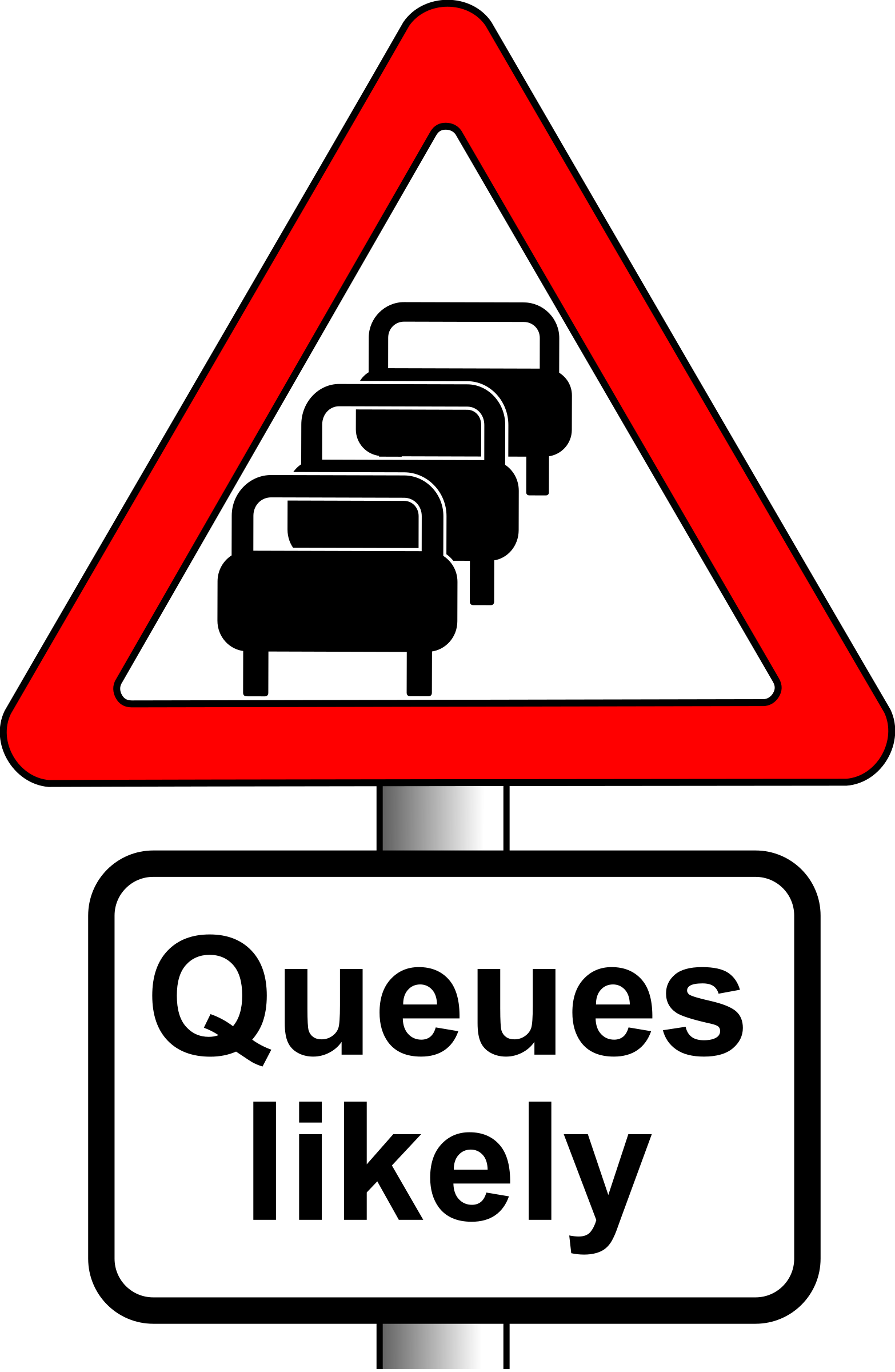 Roadsign queues by Simarilius