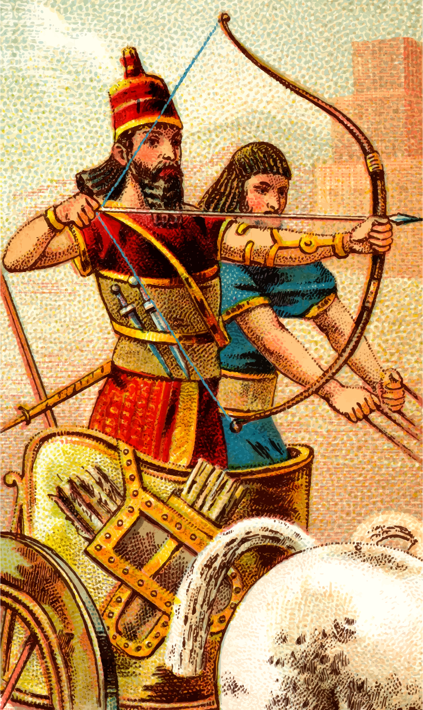 Cigarette card - Bow and Arrow by Firkin