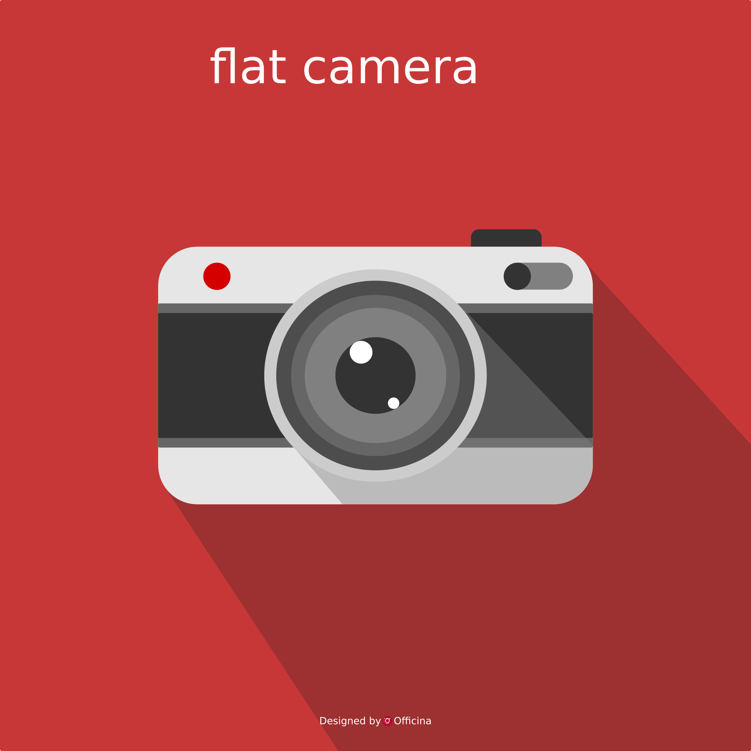 Flat camera by Officina