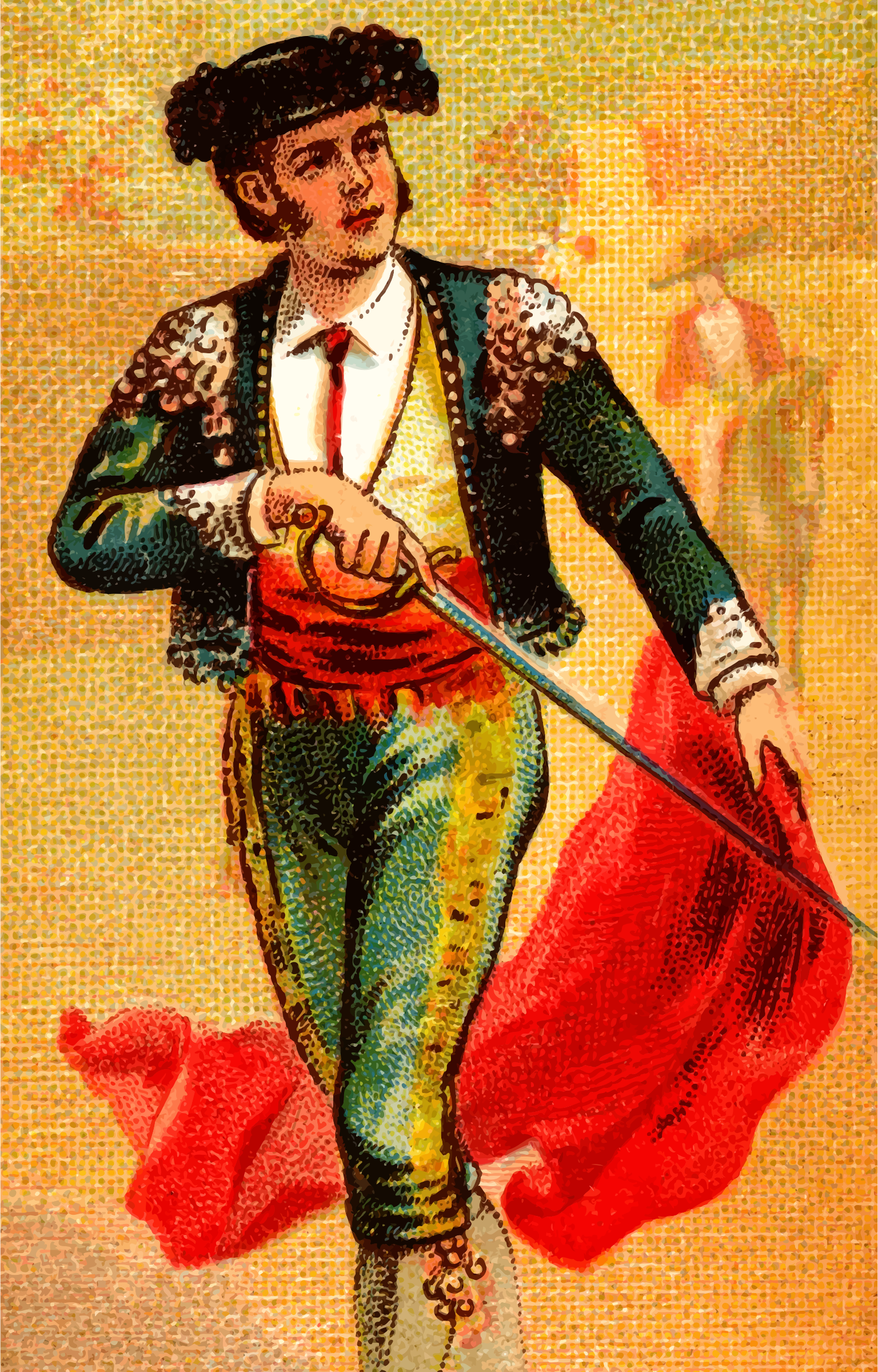 Cigarette card - Bullfighter's Sword by Firkin