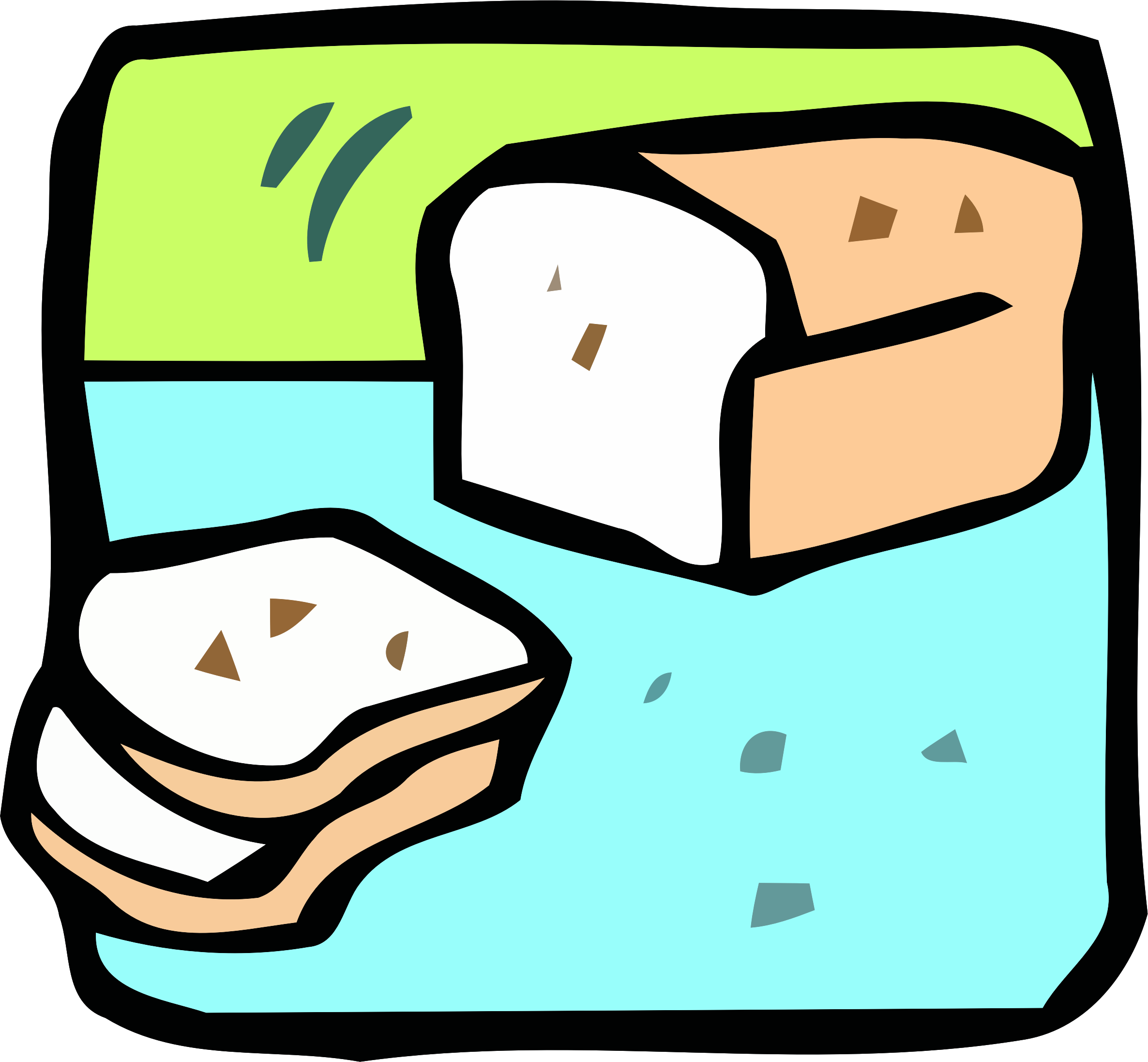 Food and drink icon - bread by Firkin