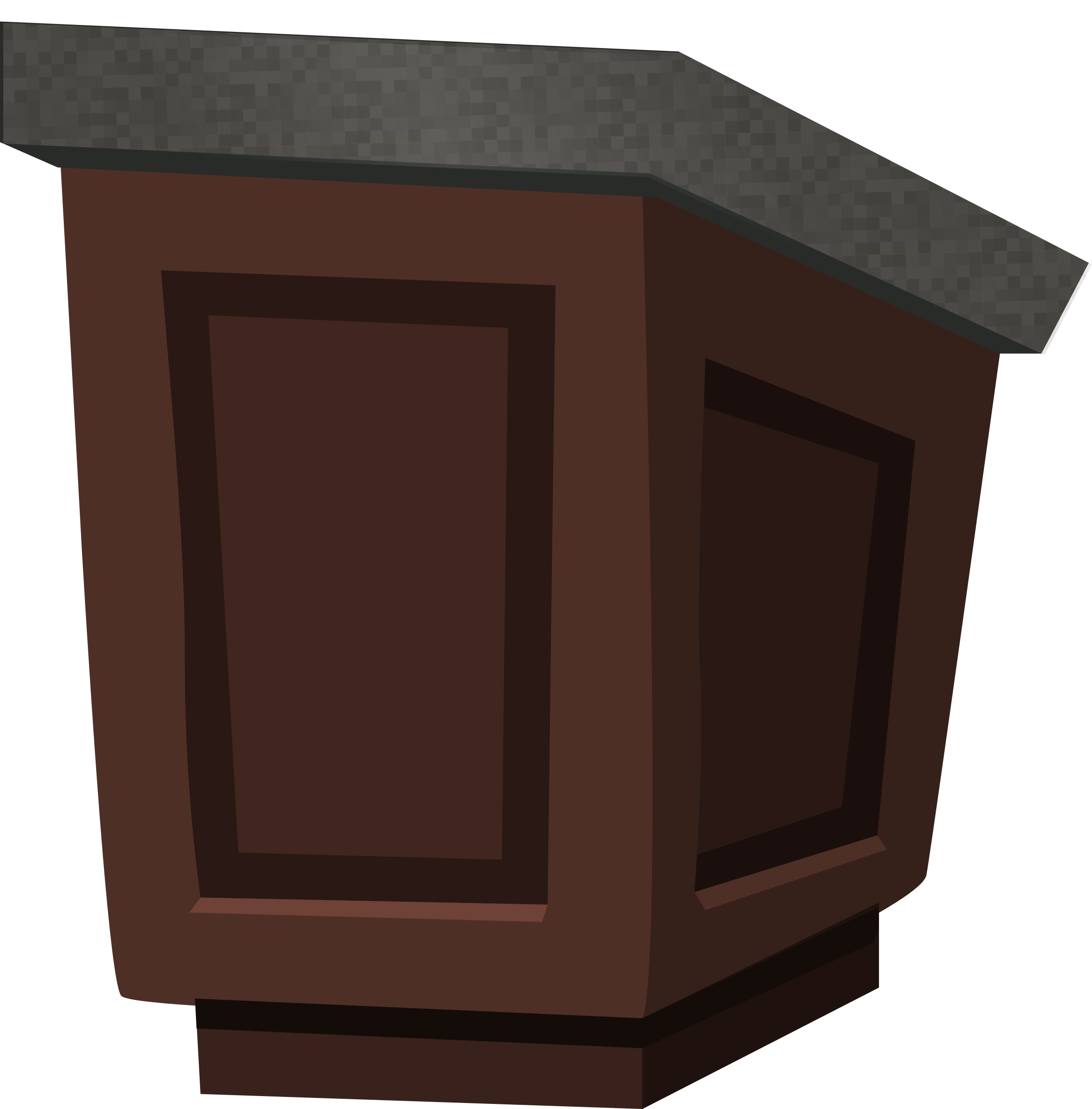 Podium - wood with granite top - from Glitch by anarres