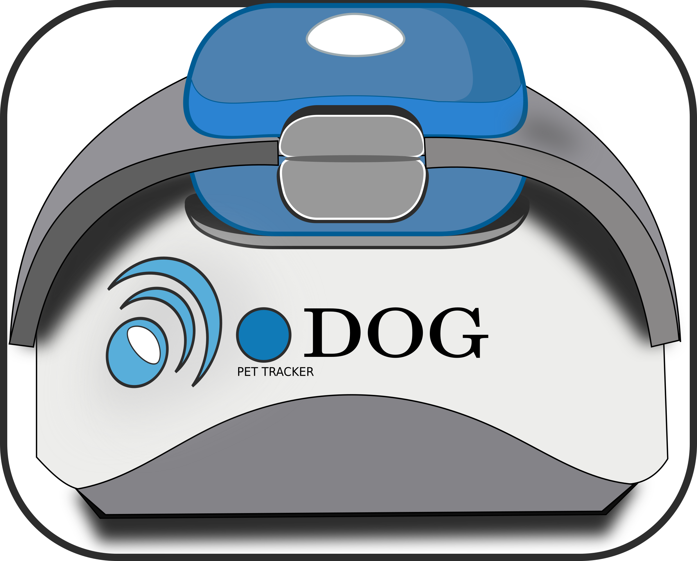 Pet GPS tracker by inkscapeforum.it