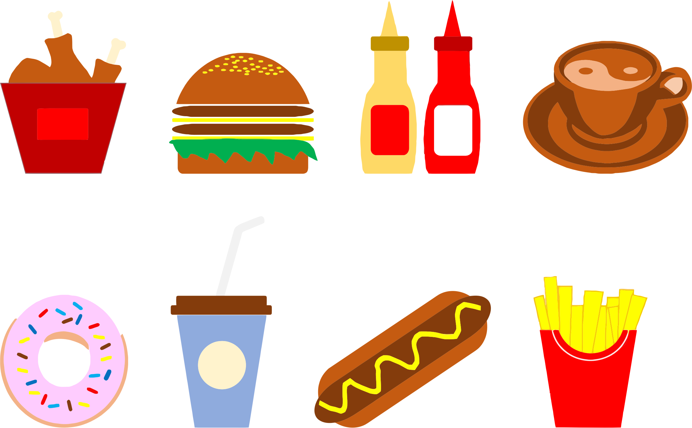 Food Icons by GDJ
