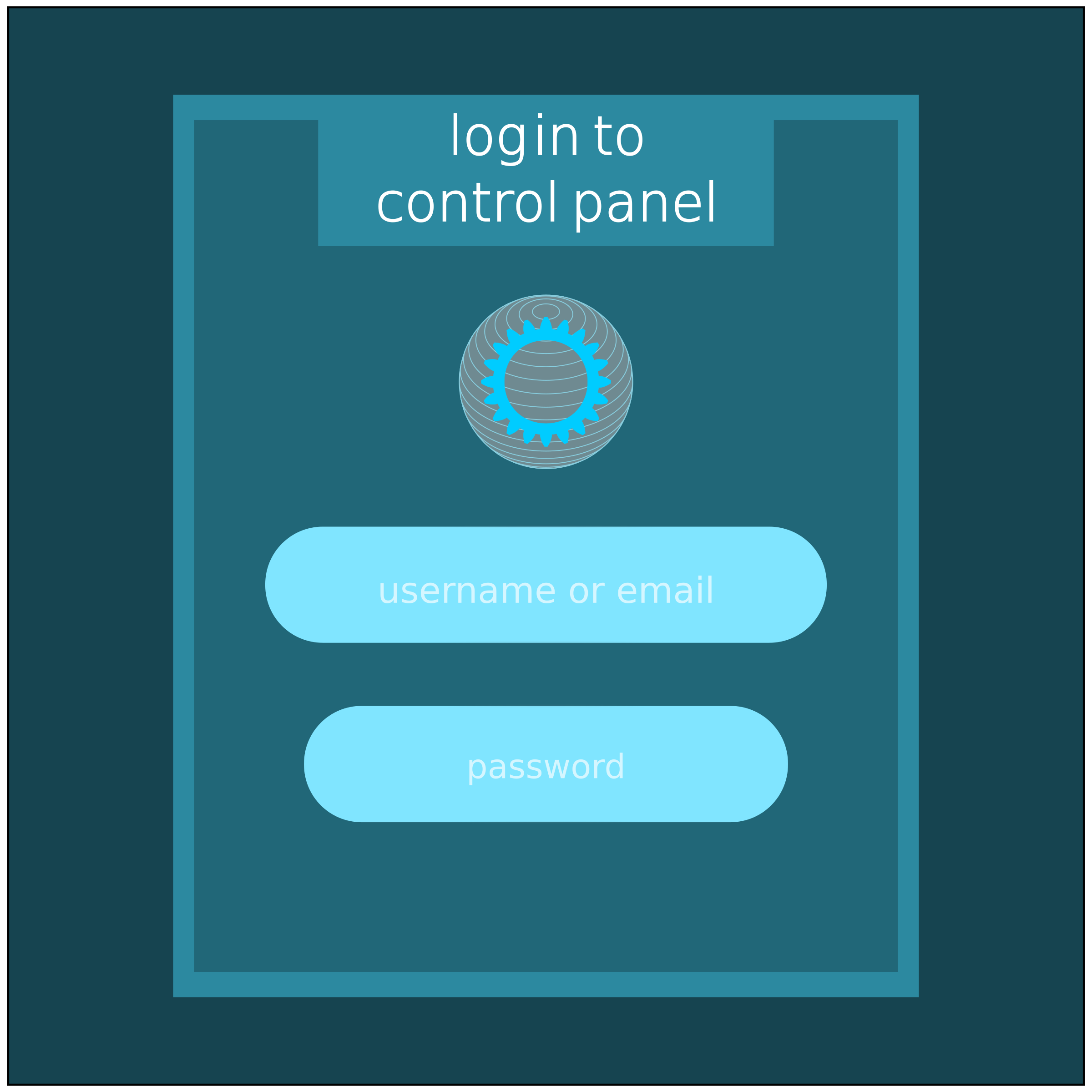 log in to control panel  by QMC.media