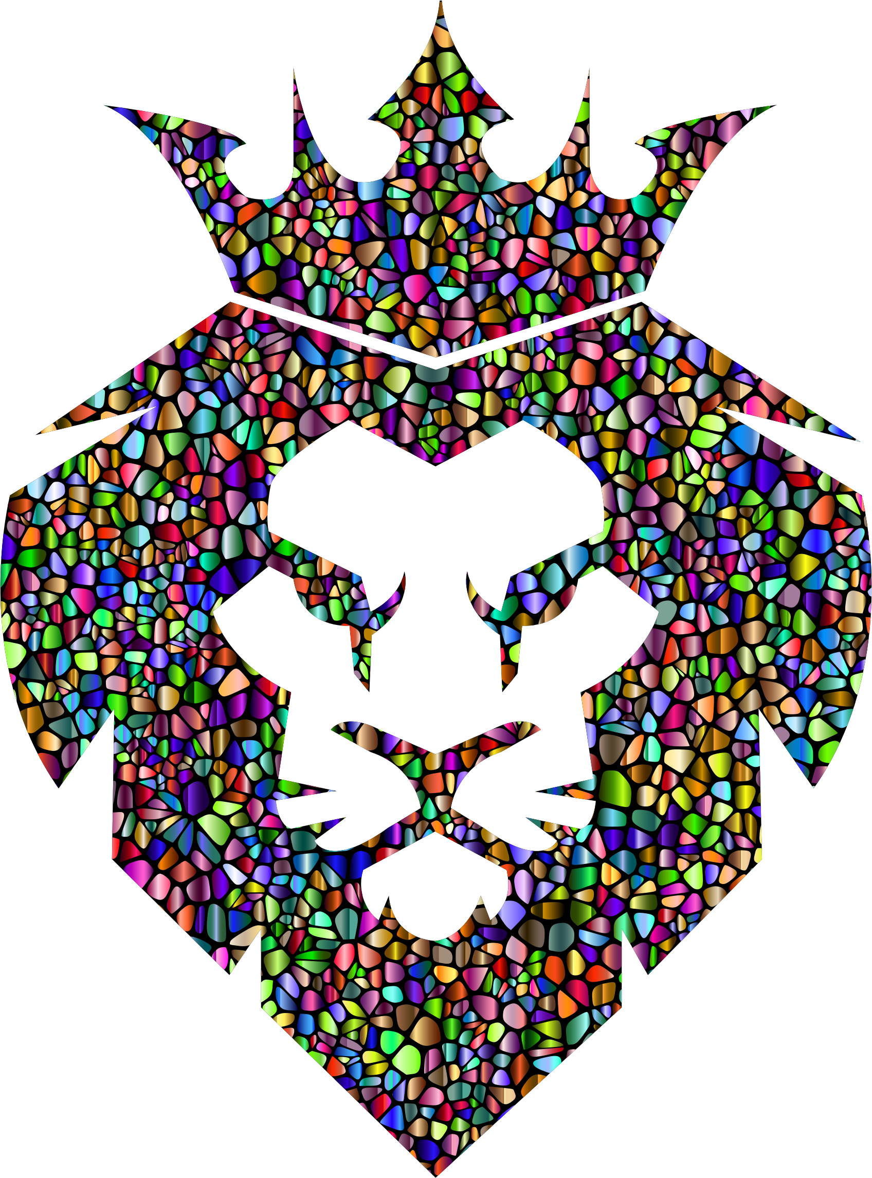 Chromatic Tiles Lion King by GDJ