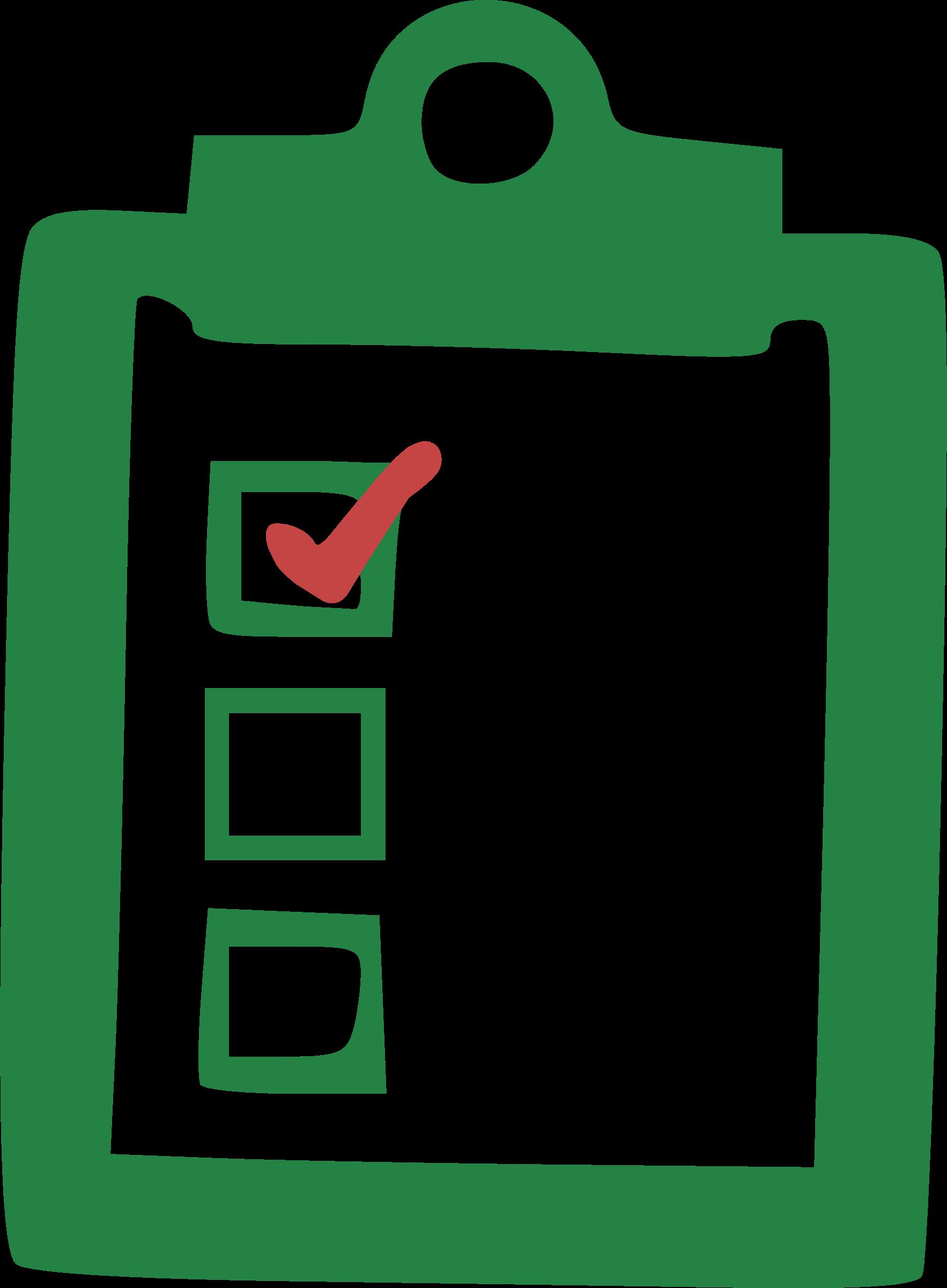 clipart - checklist