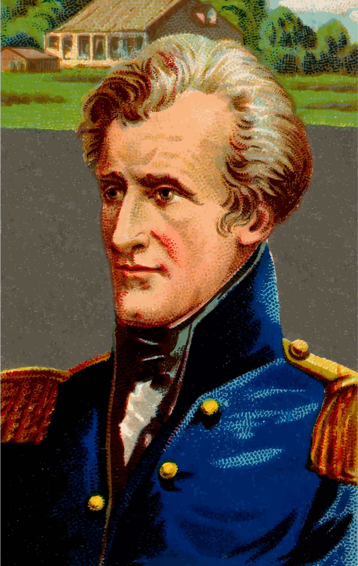 CigaretteCard - Andrew Jackson by Firkin